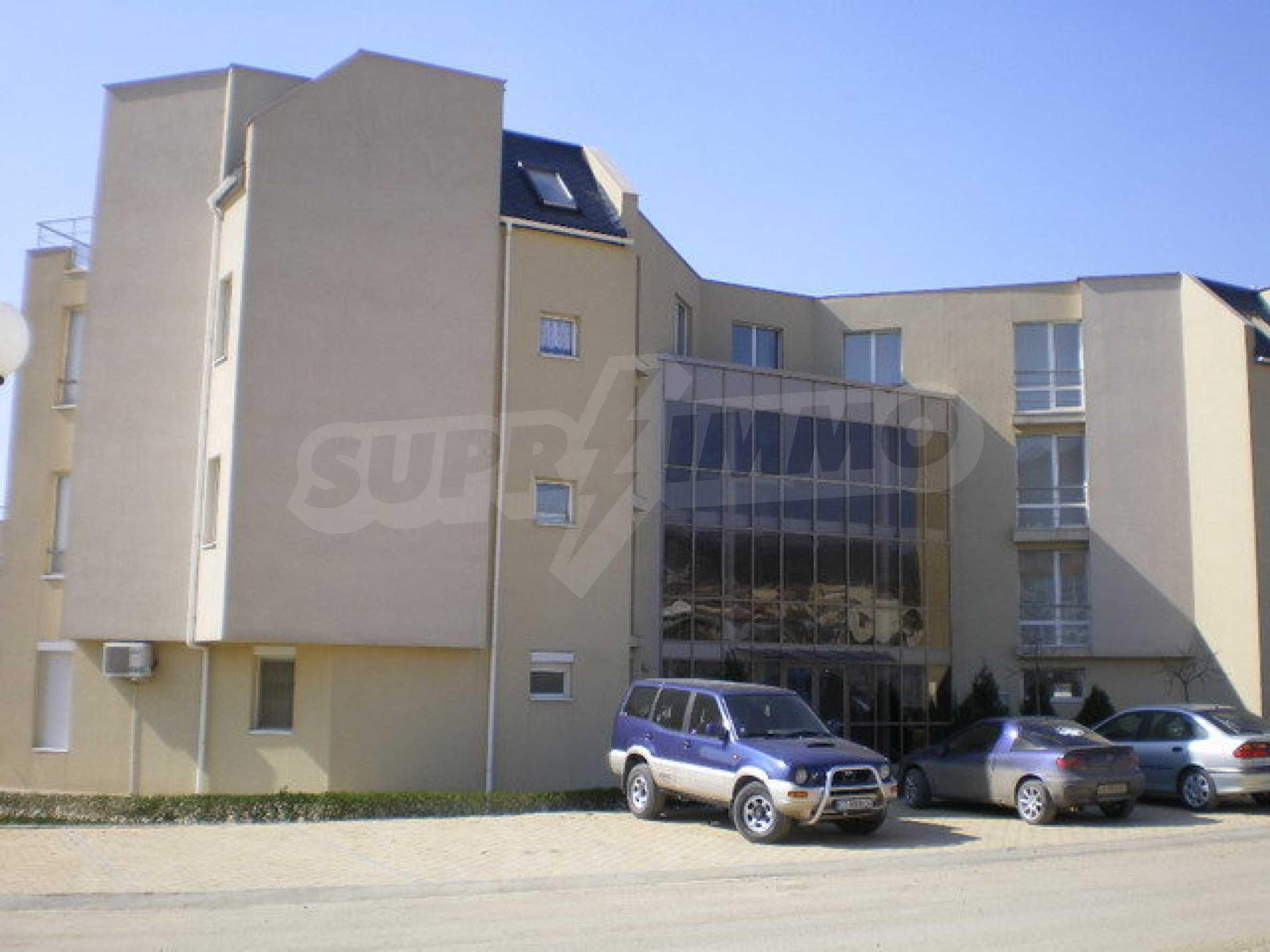 Apartment mit einem Schlafzimmer im Komplex mit Meerblick in Sveti Vlas 14