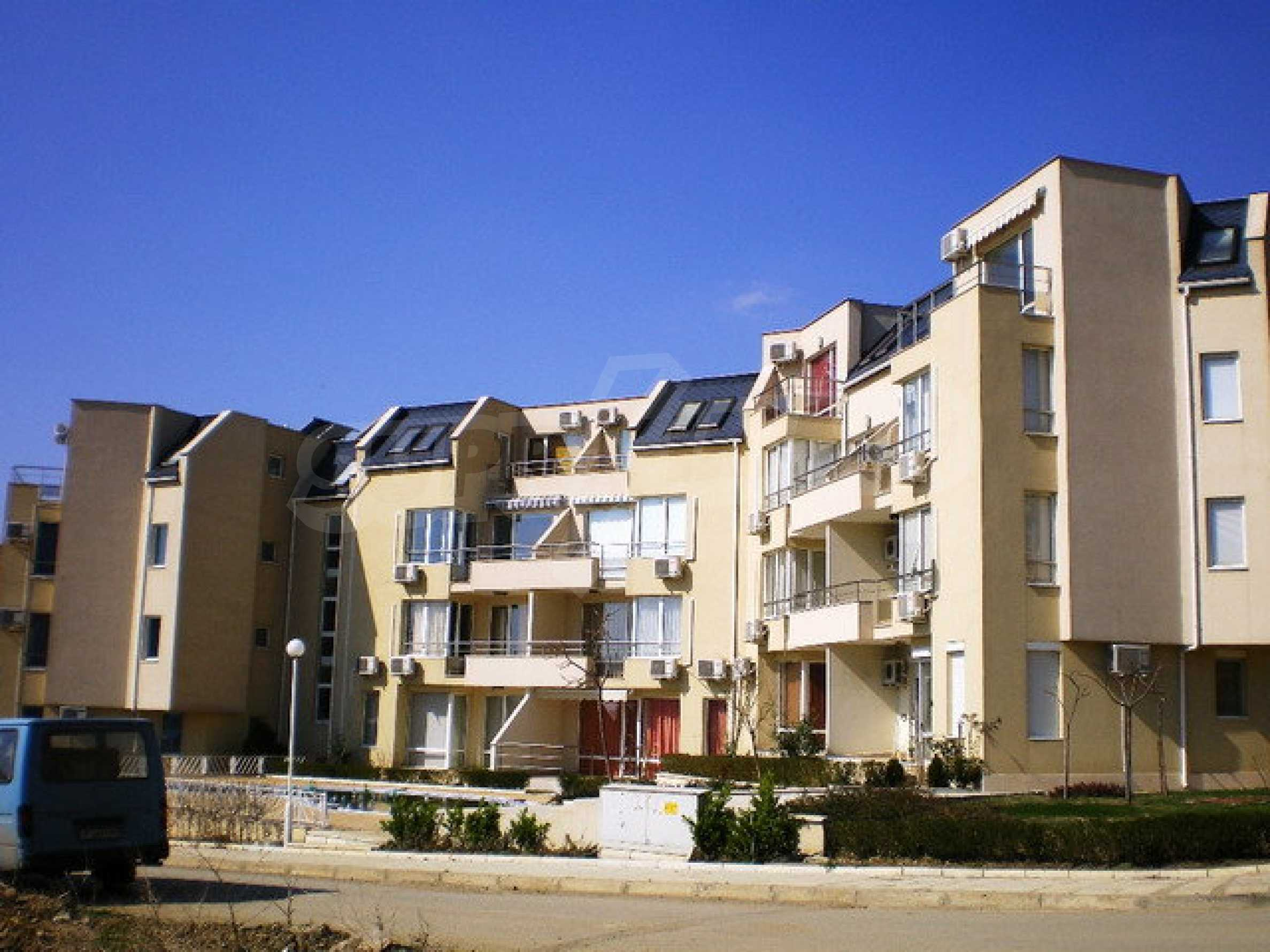 Apartment mit einem Schlafzimmer im Komplex mit Meerblick in Sveti Vlas 16