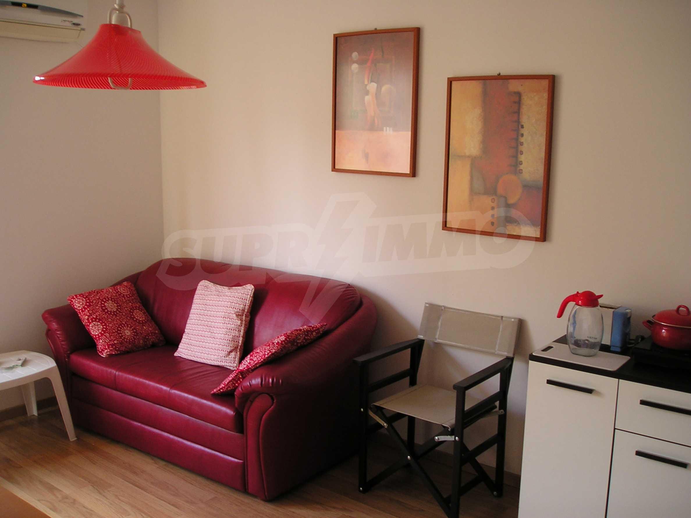 Apartment mit einem Schlafzimmer im Komplex mit Meerblick in Sveti Vlas 2