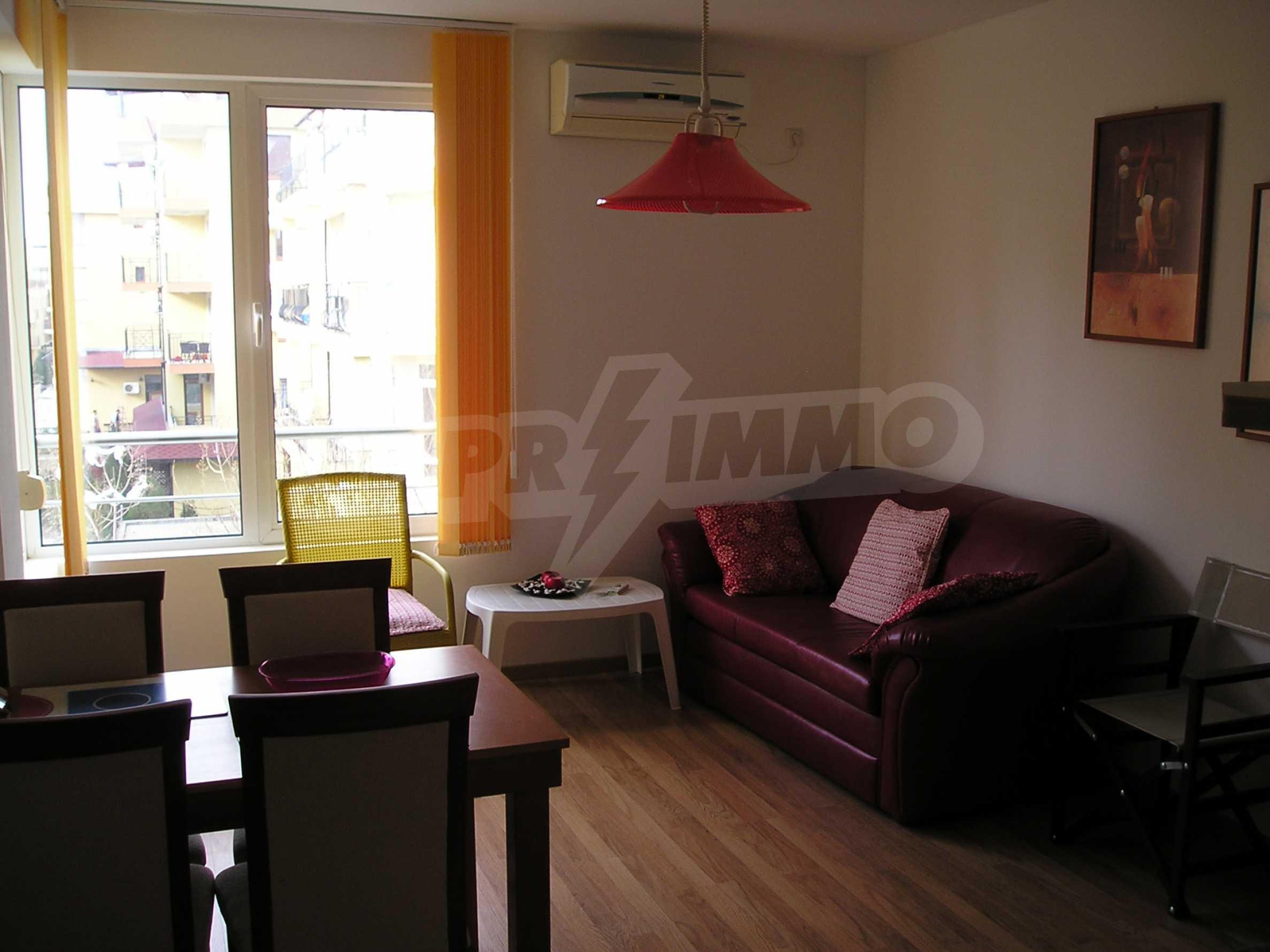 Apartment mit einem Schlafzimmer im Komplex mit Meerblick in Sveti Vlas 3