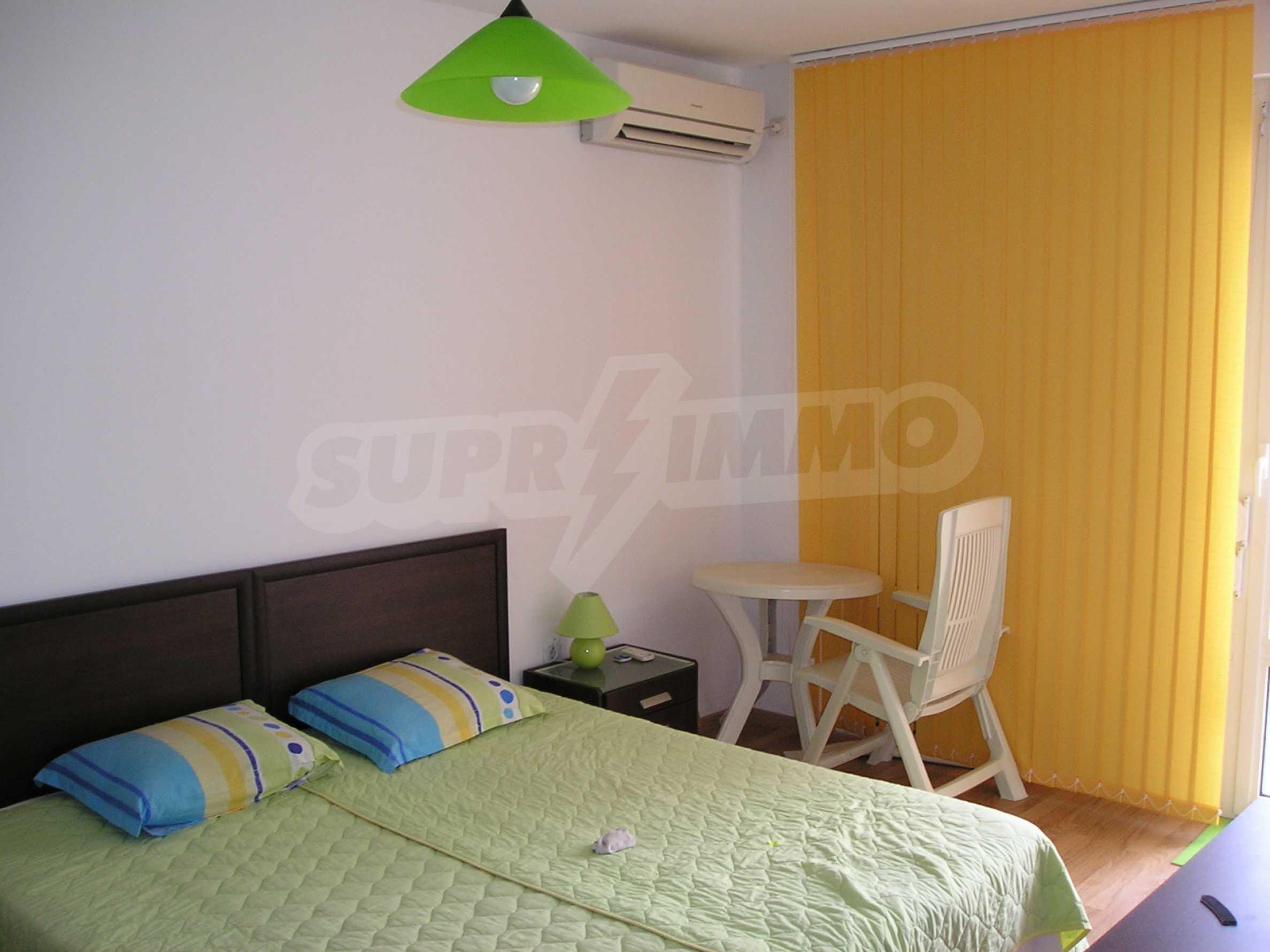 Apartment mit einem Schlafzimmer im Komplex mit Meerblick in Sveti Vlas 5