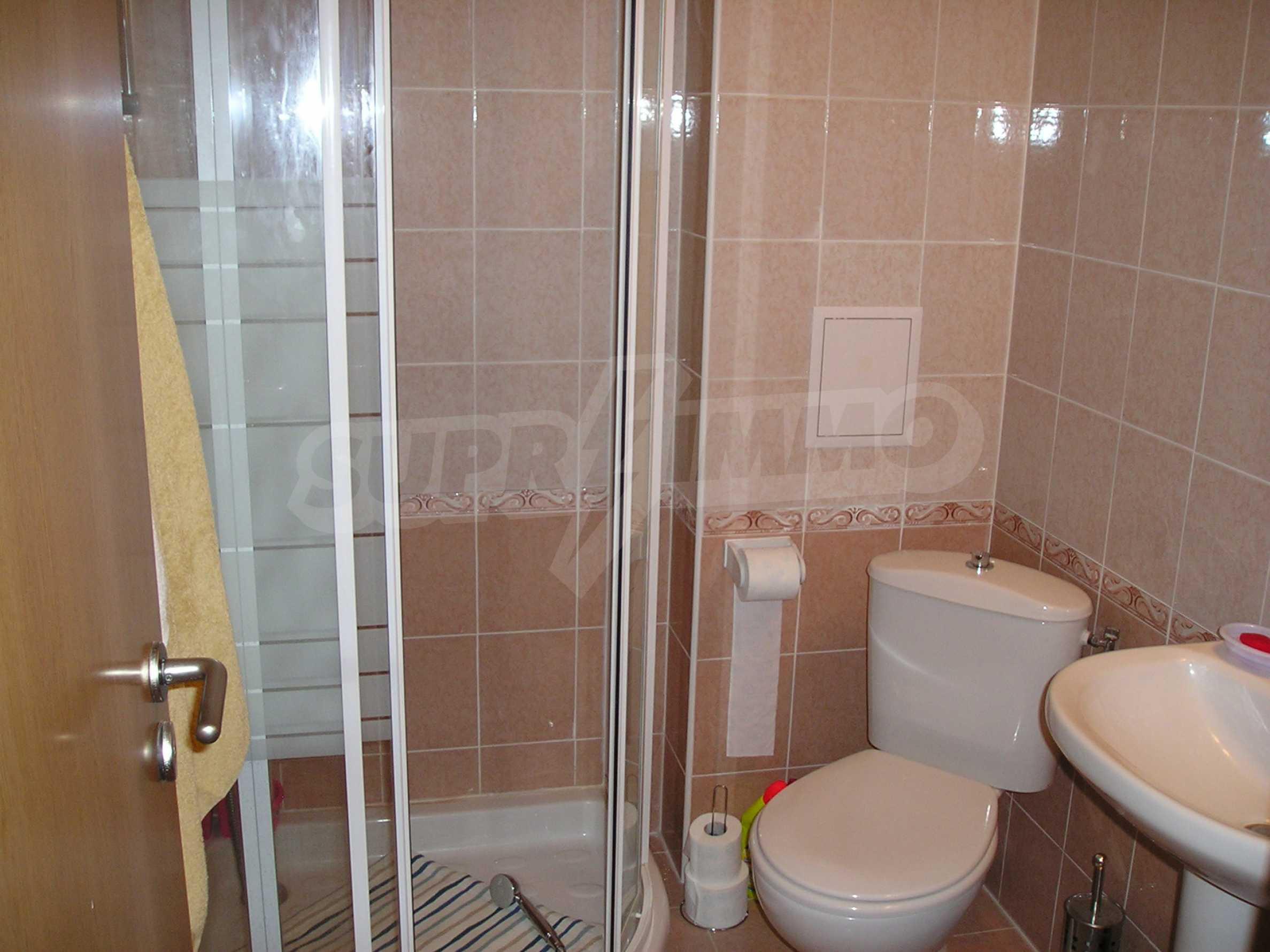 Apartment mit einem Schlafzimmer im Komplex mit Meerblick in Sveti Vlas 7