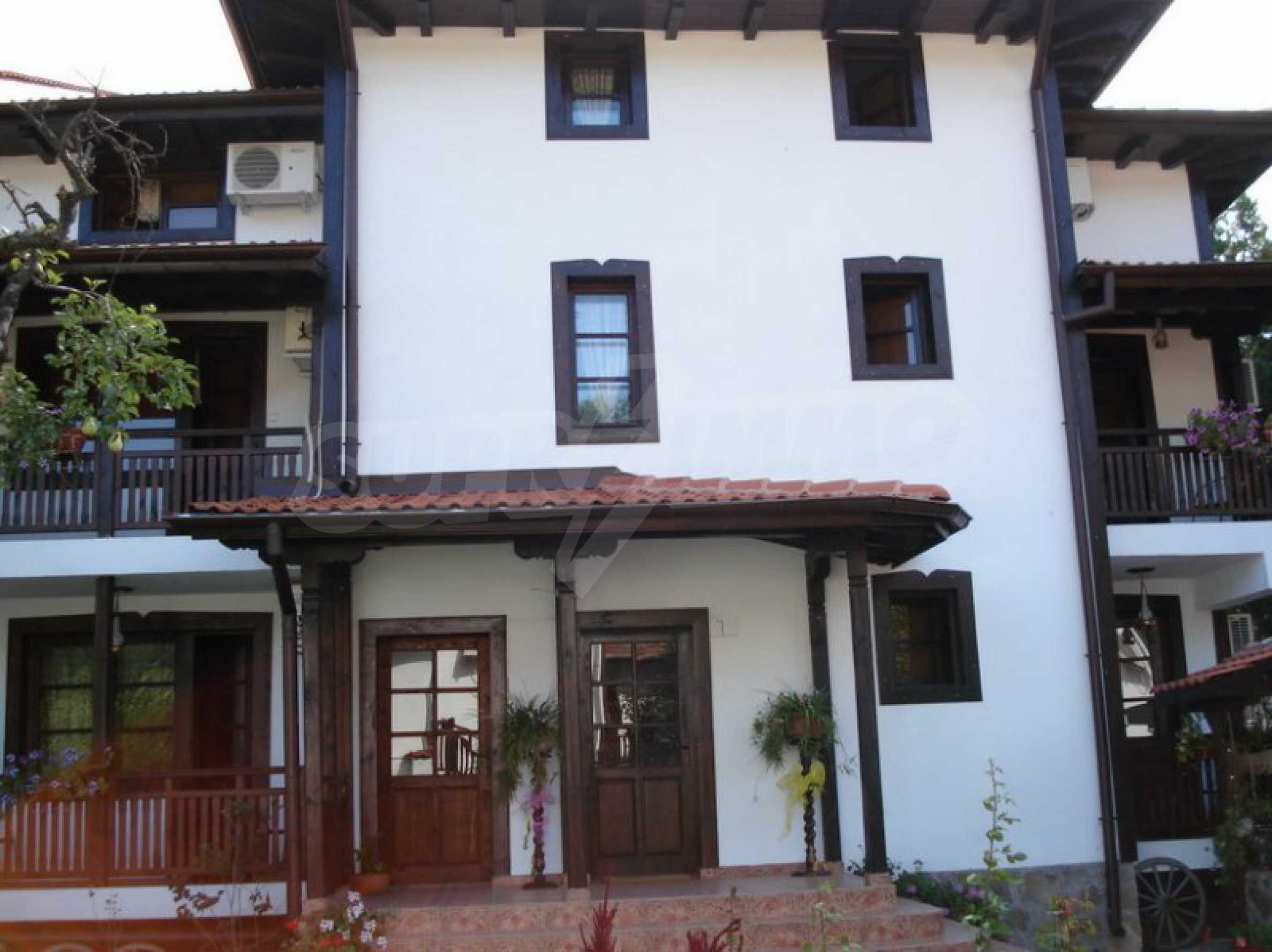 Hotelanlage mit Restaurant am Ufer des Flusses Osam in Lovech 21