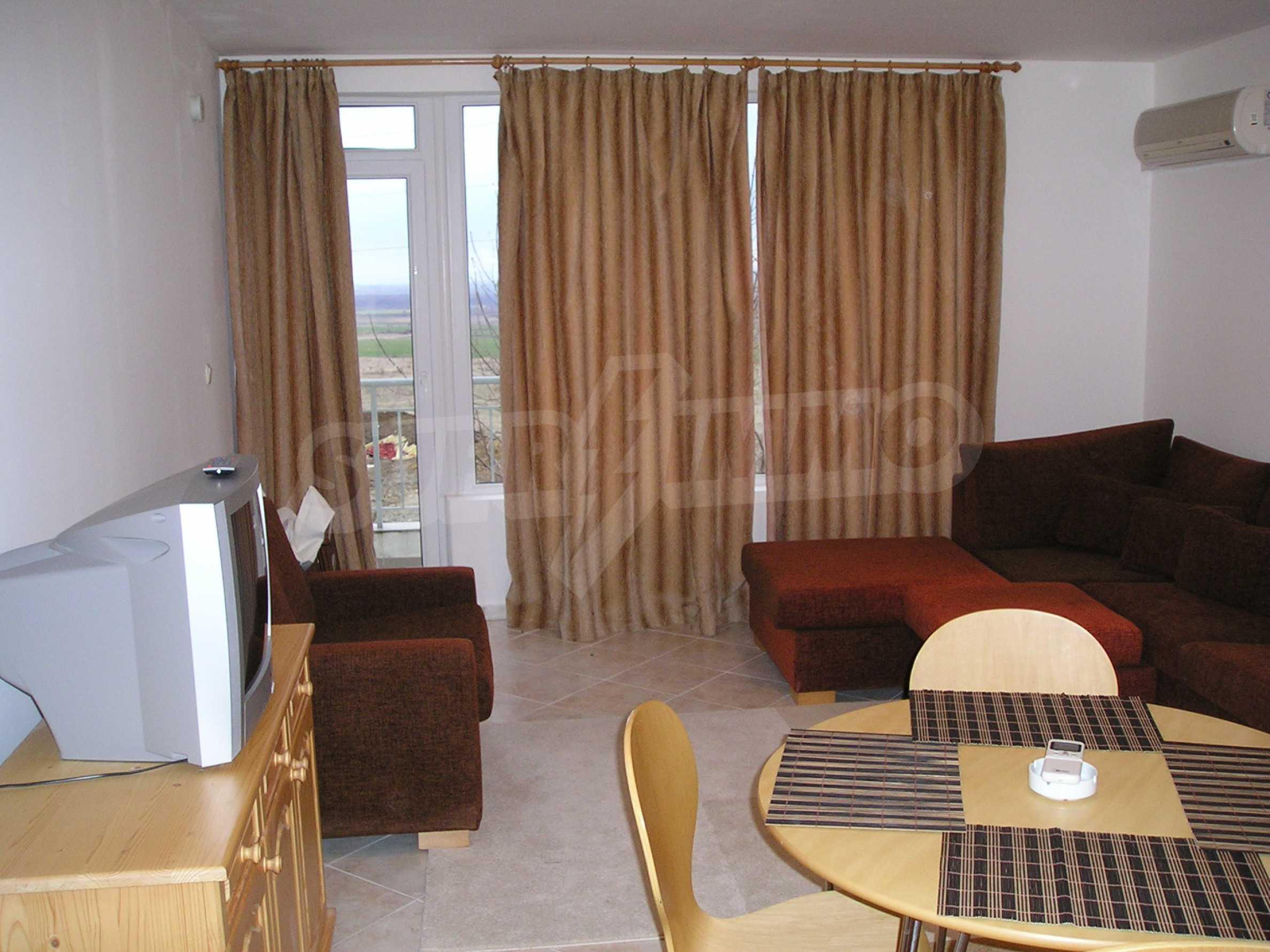 One-bedroom apartment in Sunset Apartments 1 in Kosharitsa 2