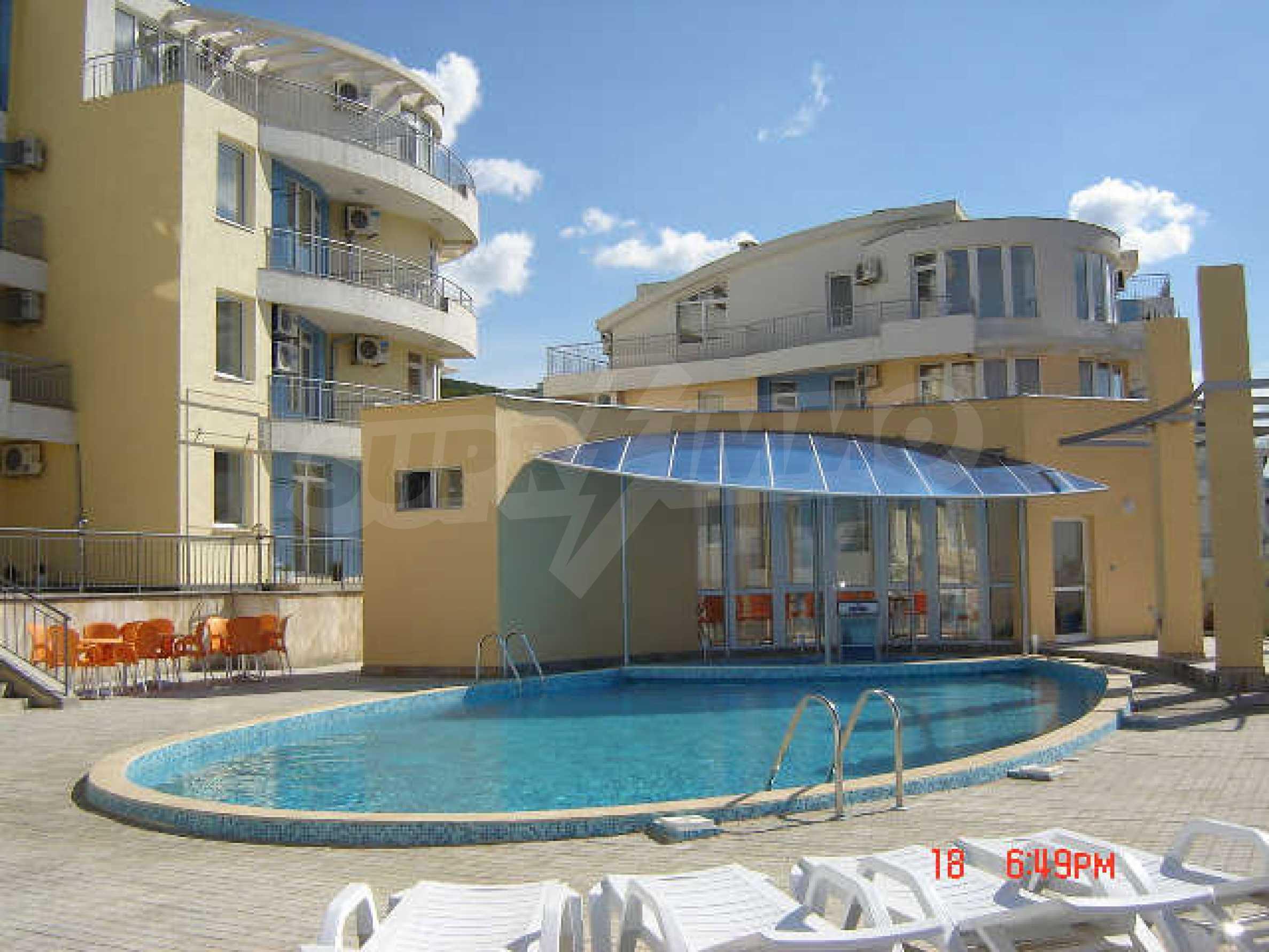 One-bedroom apartment in Sunset Apartments 1 in Kosharitsa 30