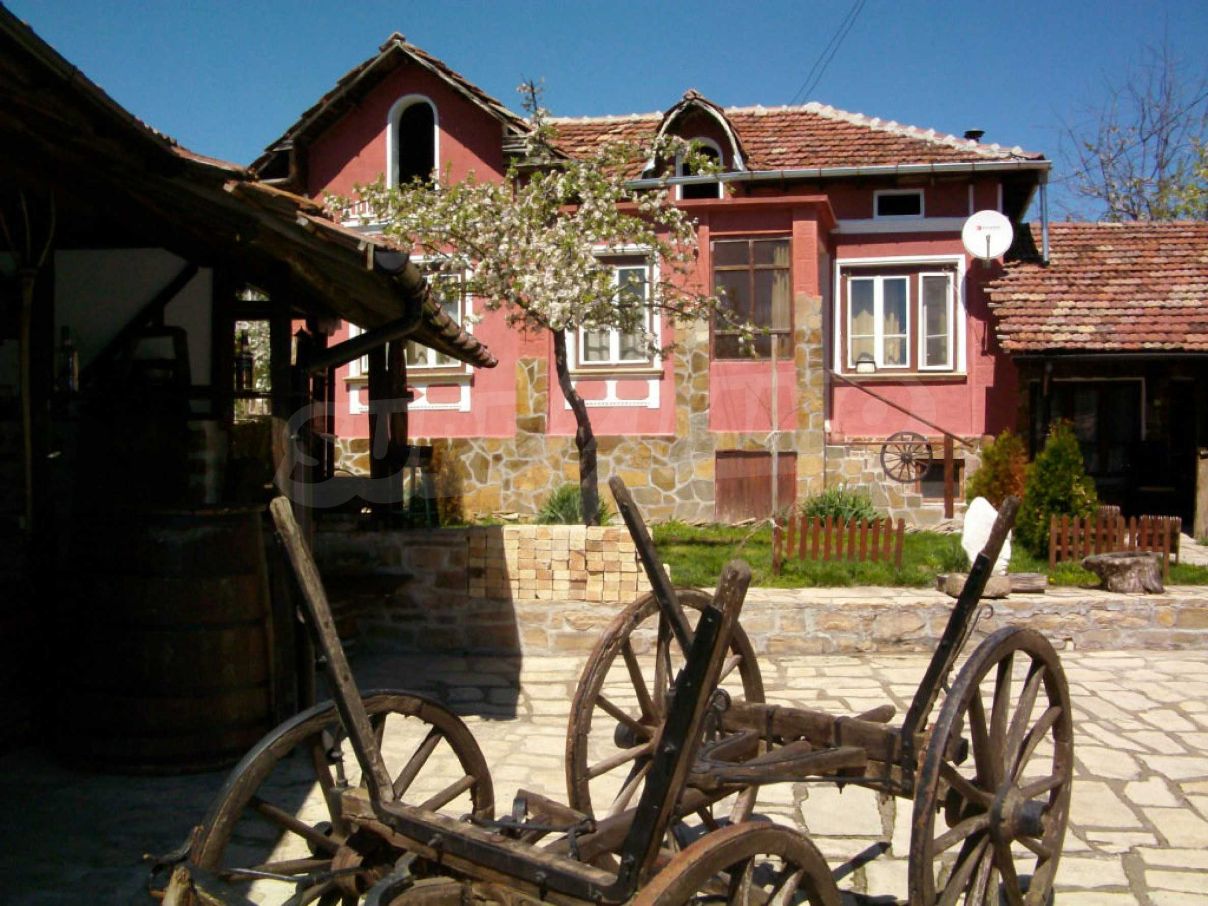 Fully renovated and furnished property in traditional Bulgarian style