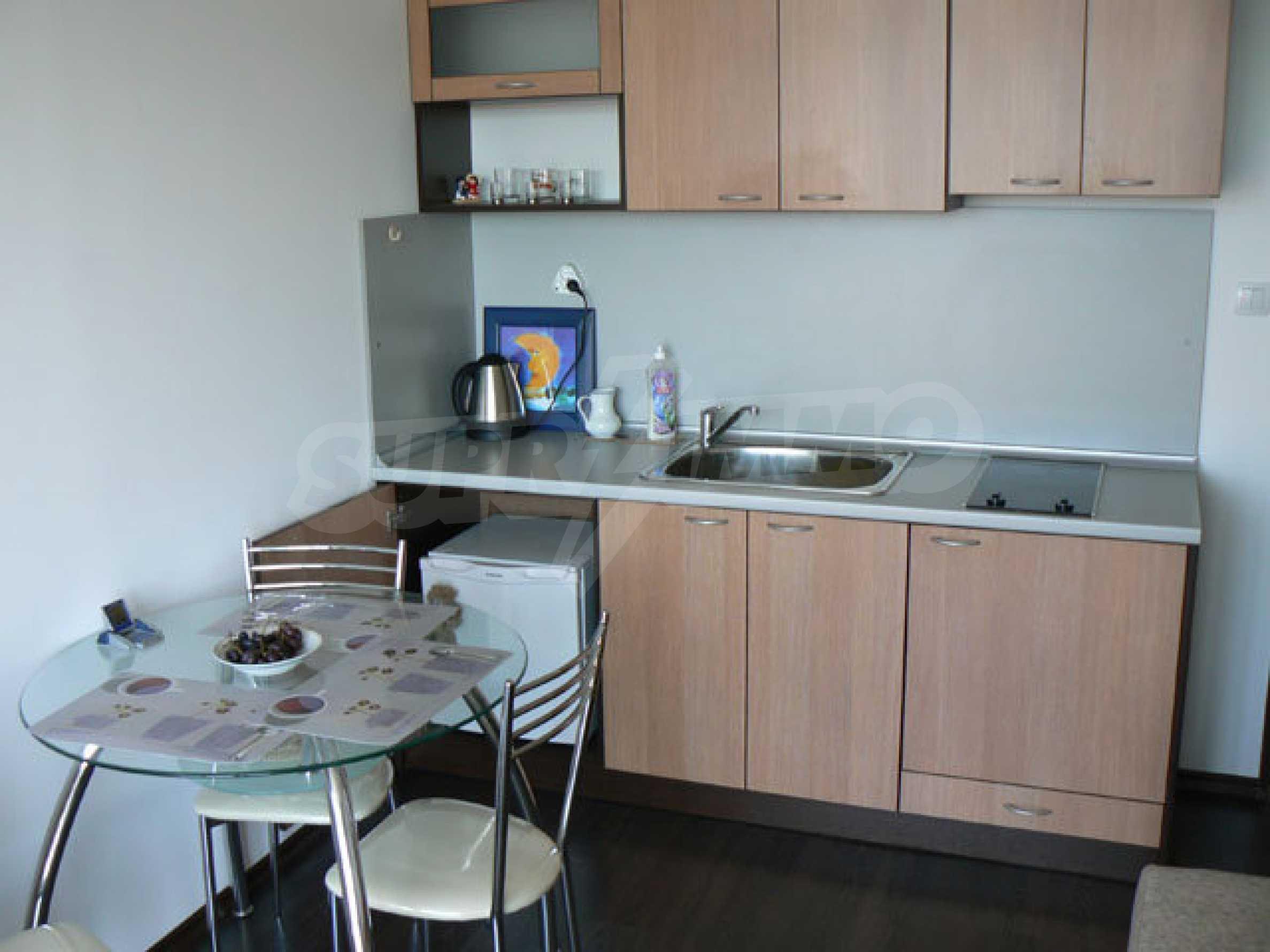 Studio apartment in Sol Marine complex in Sunny Beach