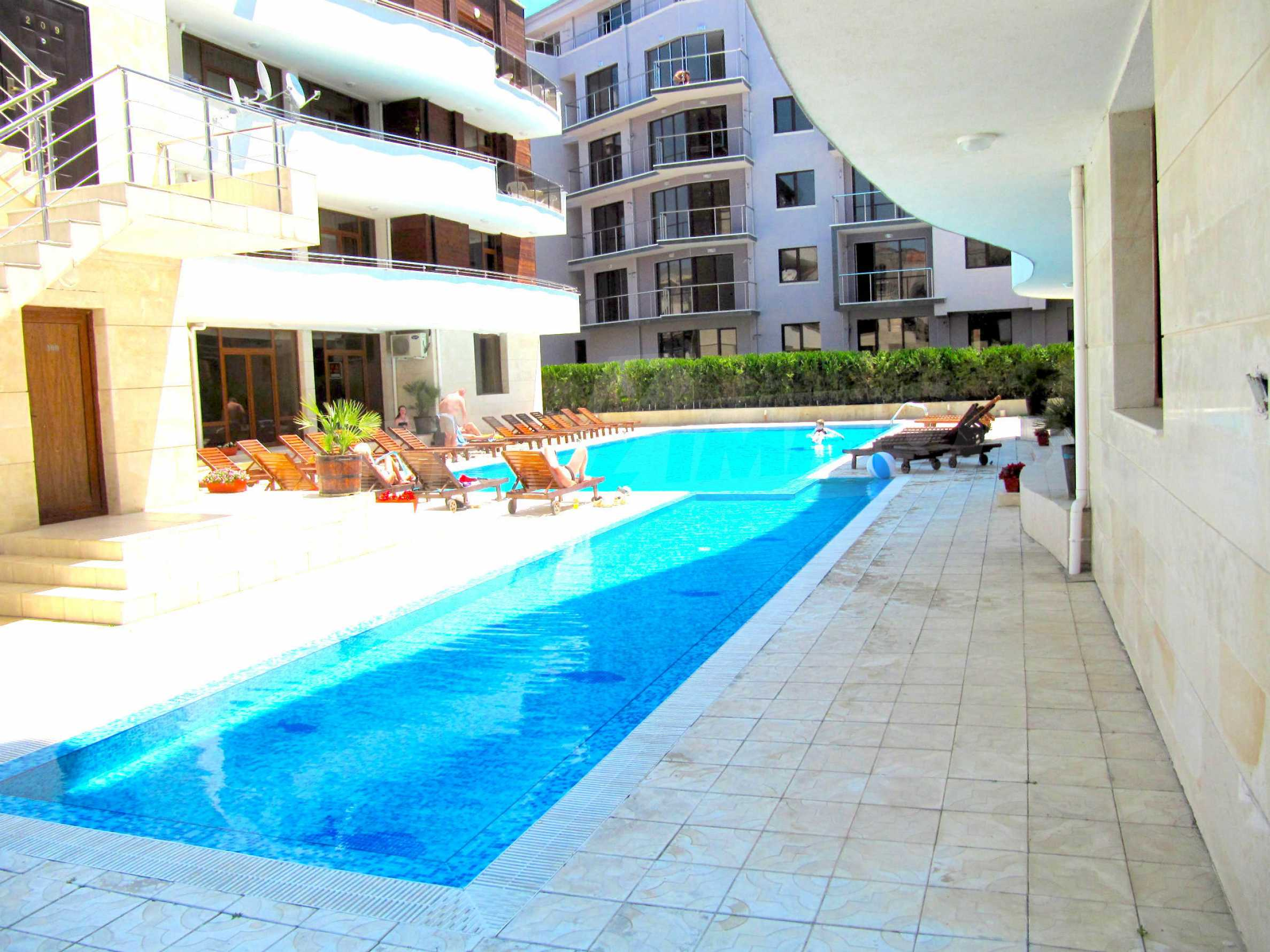 One bedroom apartment in Eden Apartments in Sunny beach