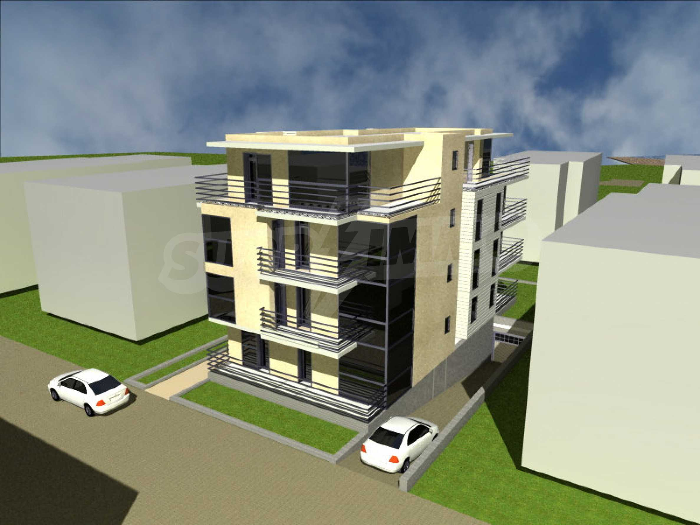 Development project in Lozenets 1
