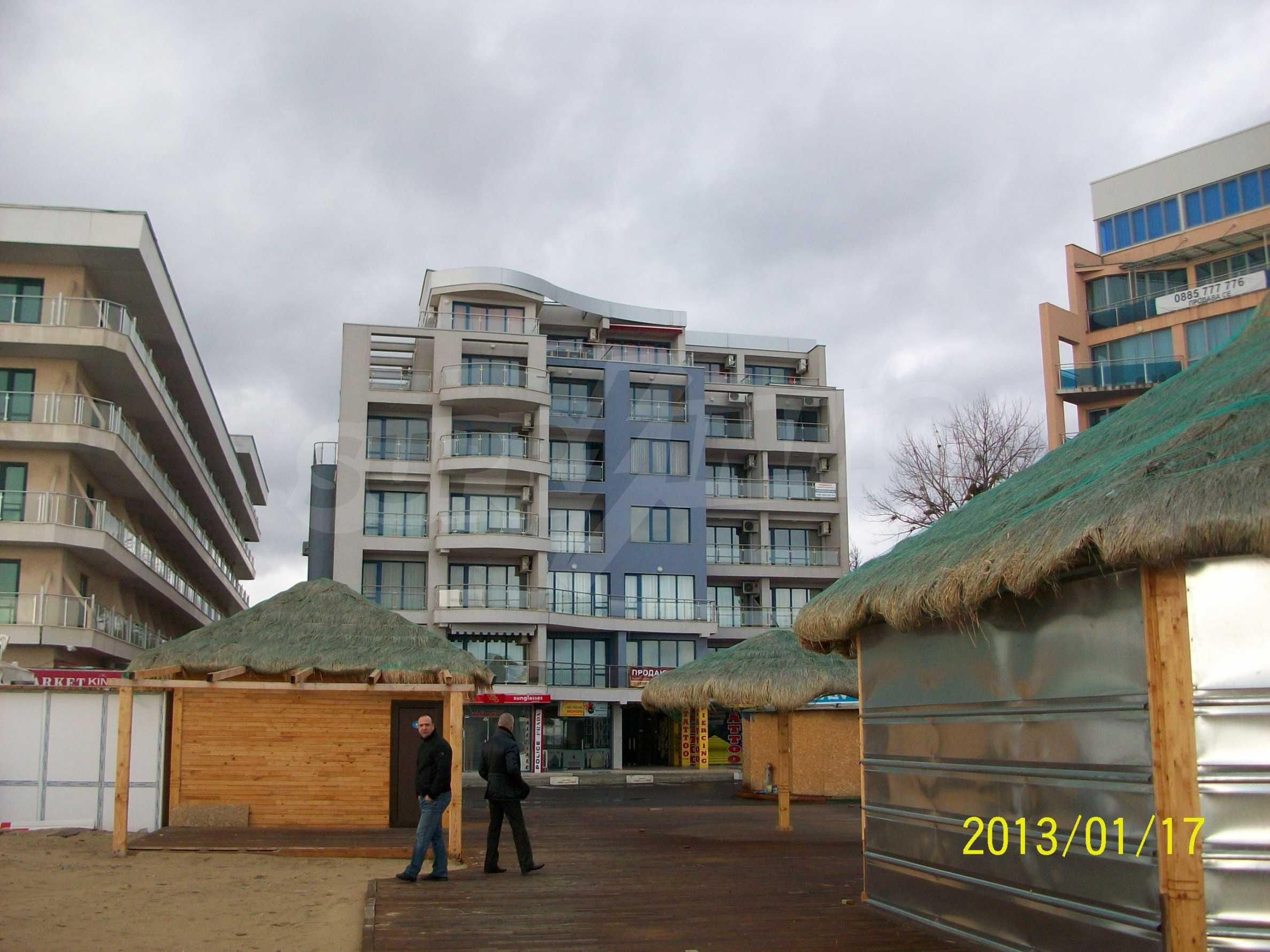 Wohnungen im Sommerkomplex in Sunny Beach 1