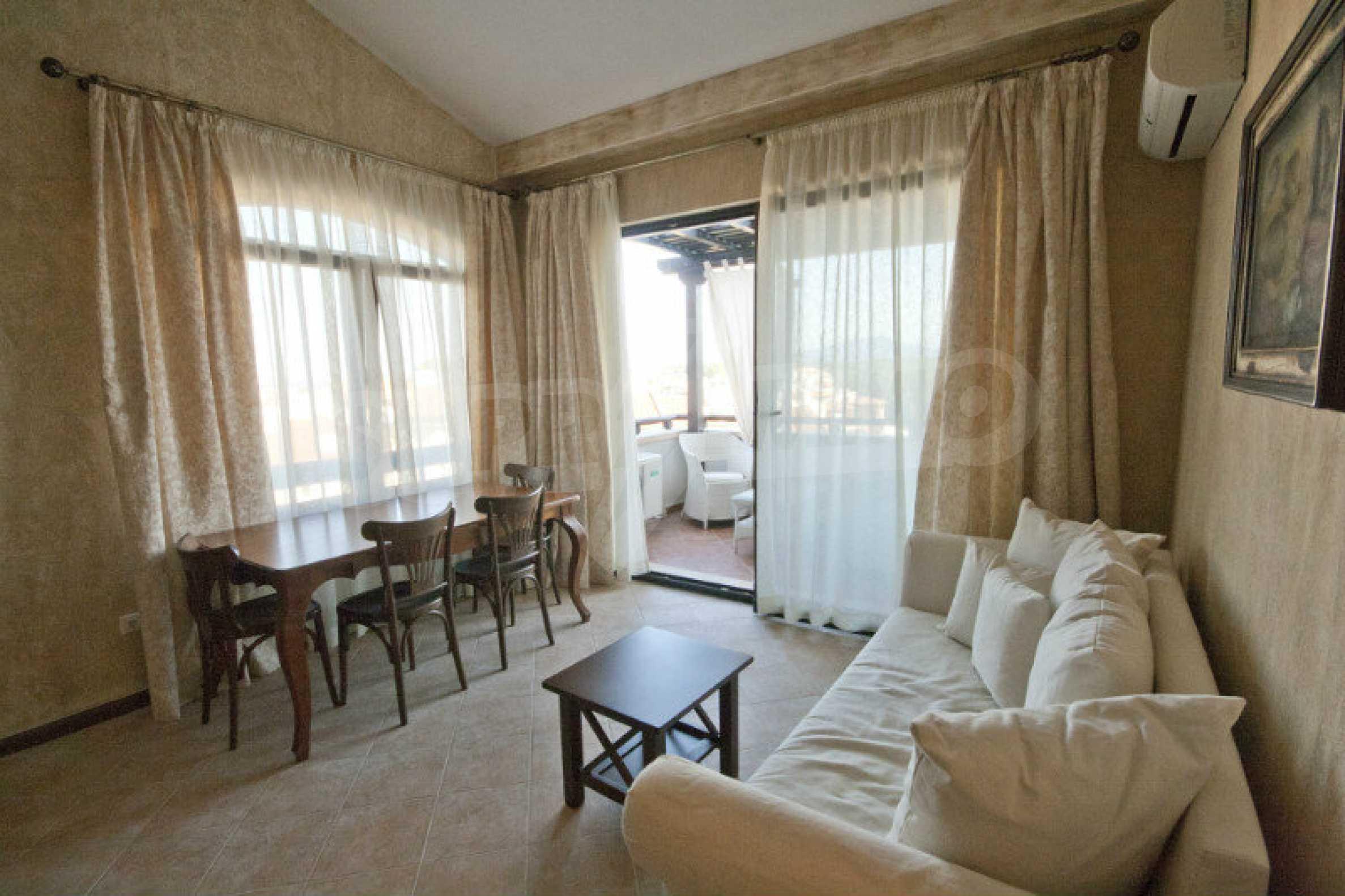 Designer apartment in an elite complex on the beach 1