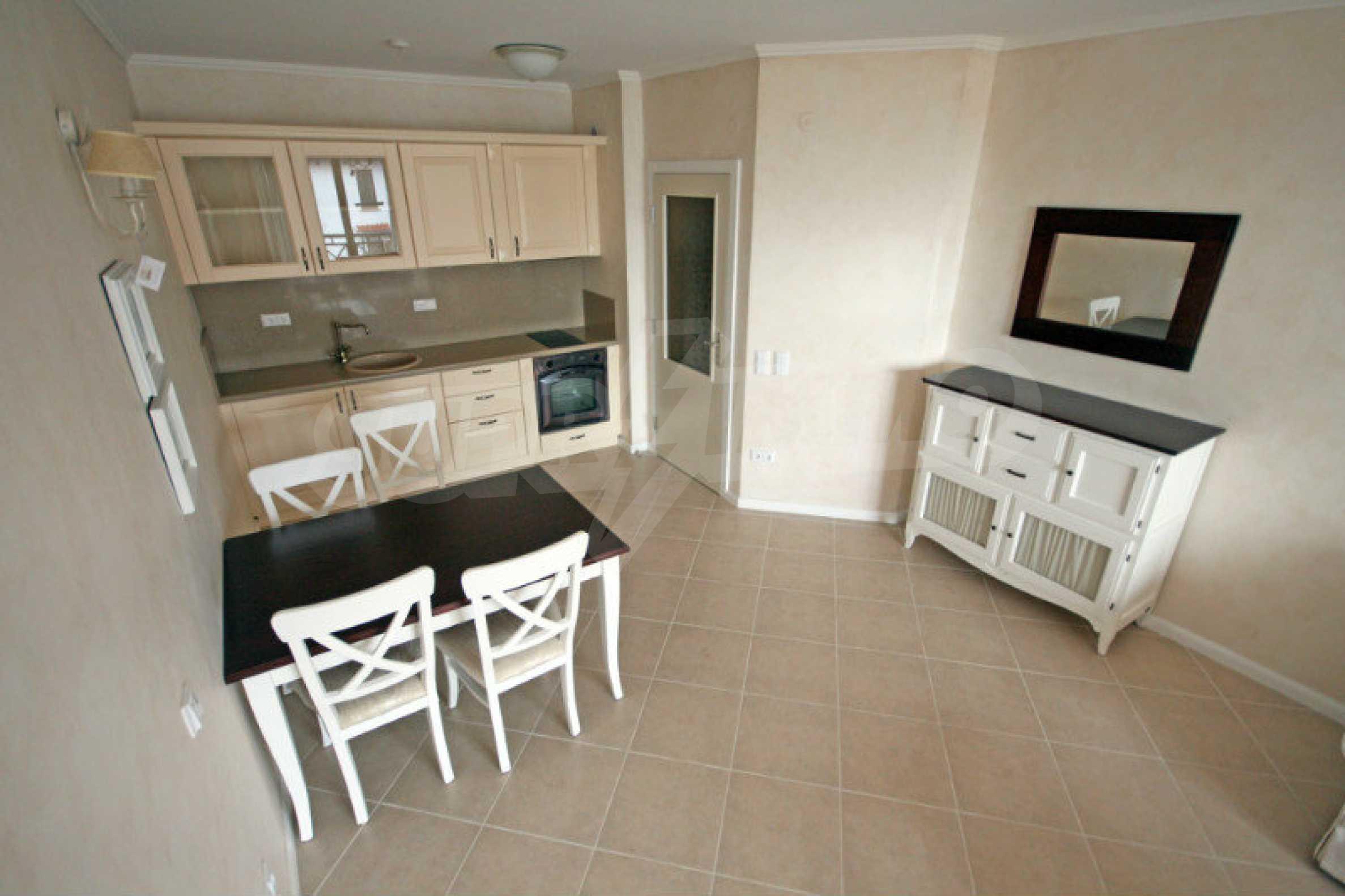 """Komfortables Apartment mit einem Schlafzimmer in einem prestigeträchtigen Komplex in der Nähe des Strandes """"Oasis"""" 2"""