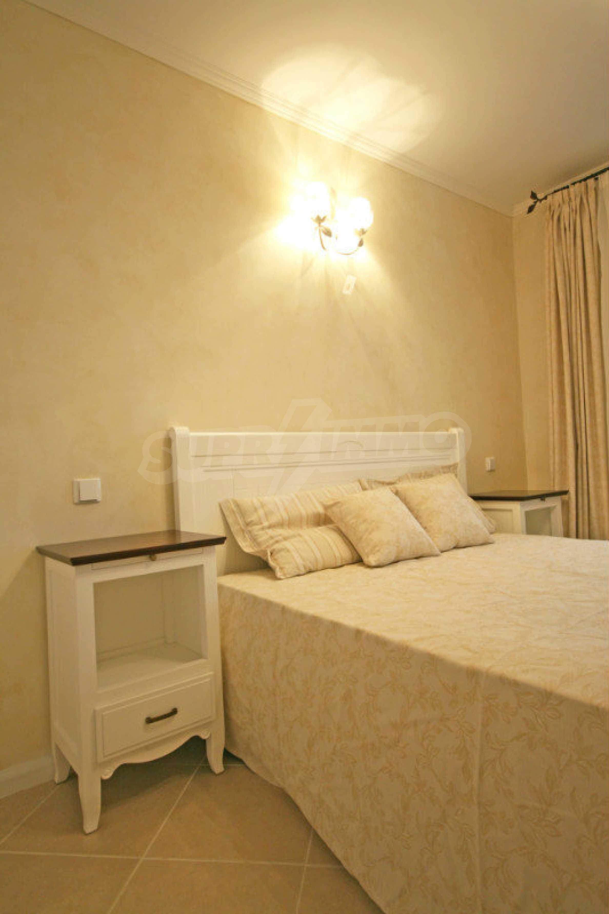 """Komfortables Apartment mit einem Schlafzimmer in einem prestigeträchtigen Komplex in der Nähe des Strandes """"Oasis"""" 7"""