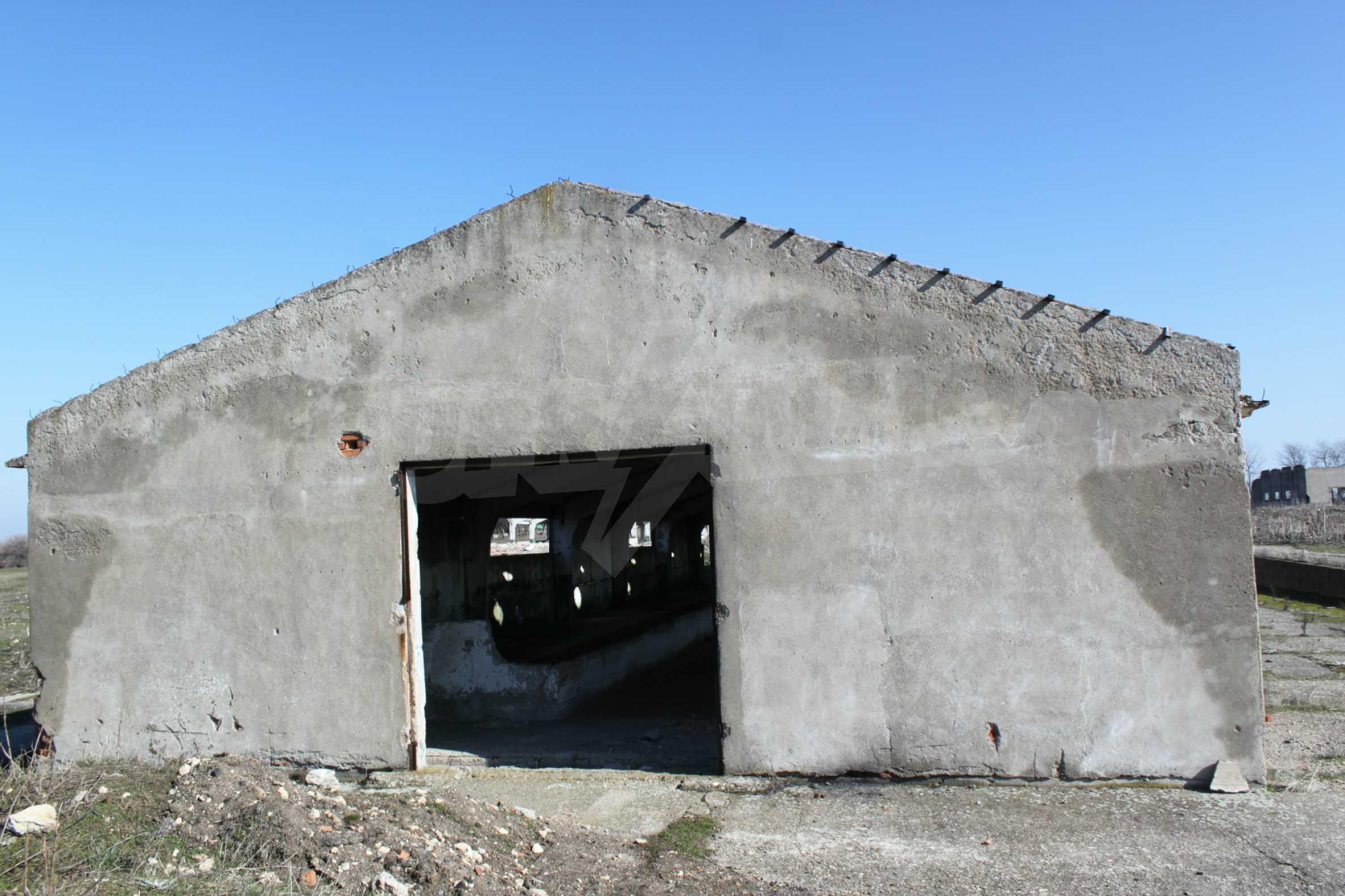 Dairy farm with a huge yard 10