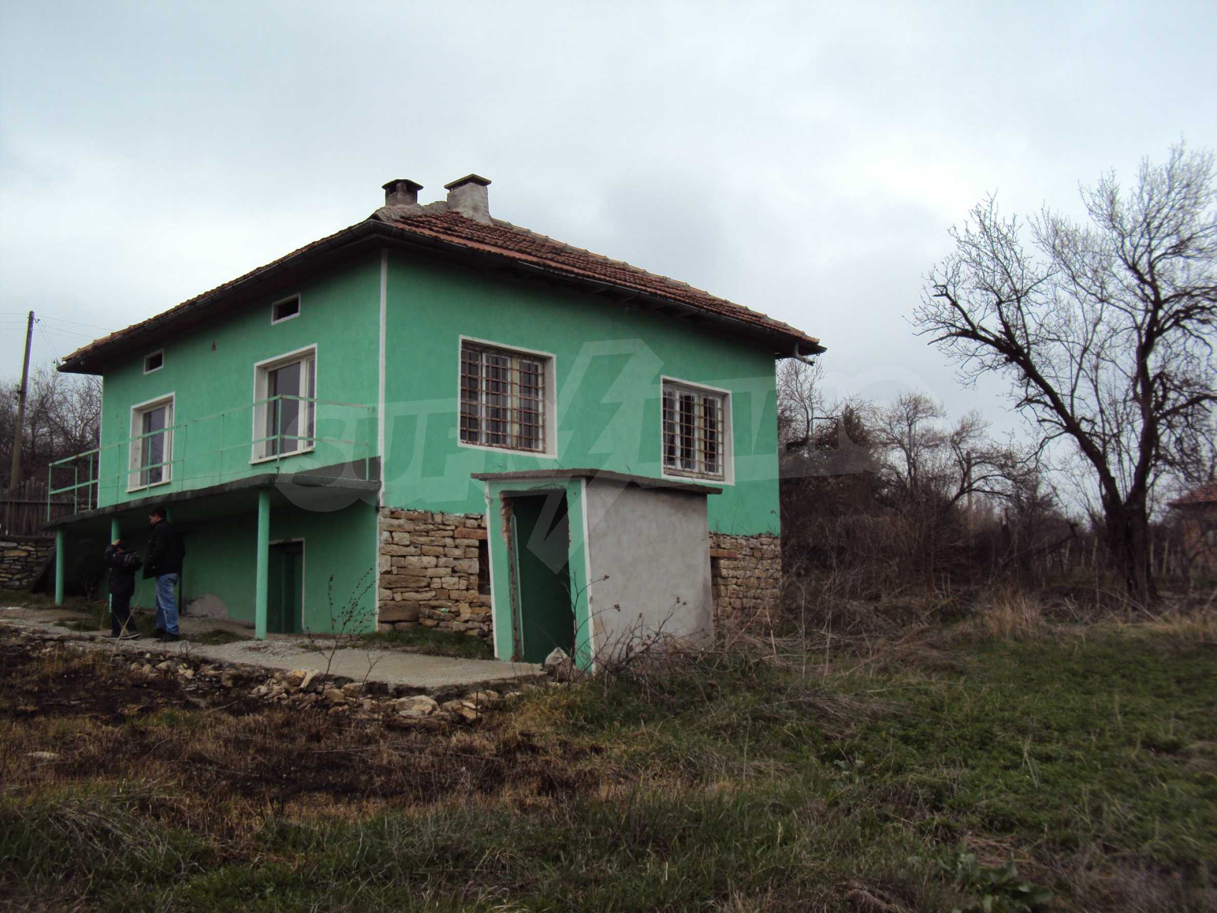 Two-storey house located 30 km. from Veliko Tarnovo