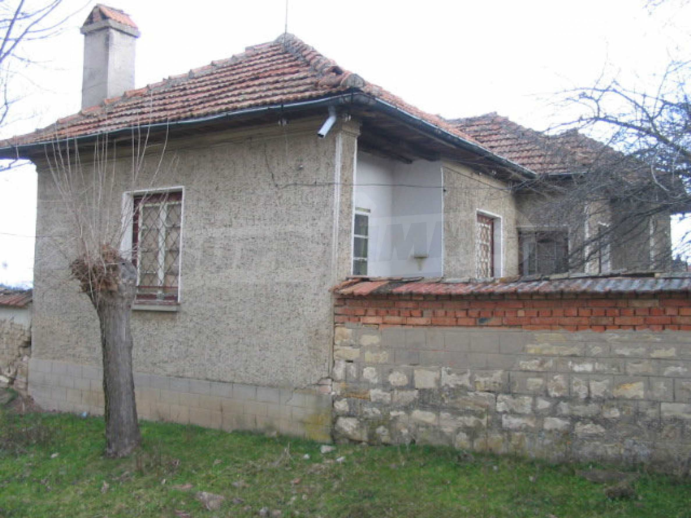 House with spacious garden in a well developed village near Veliko Tarnovo