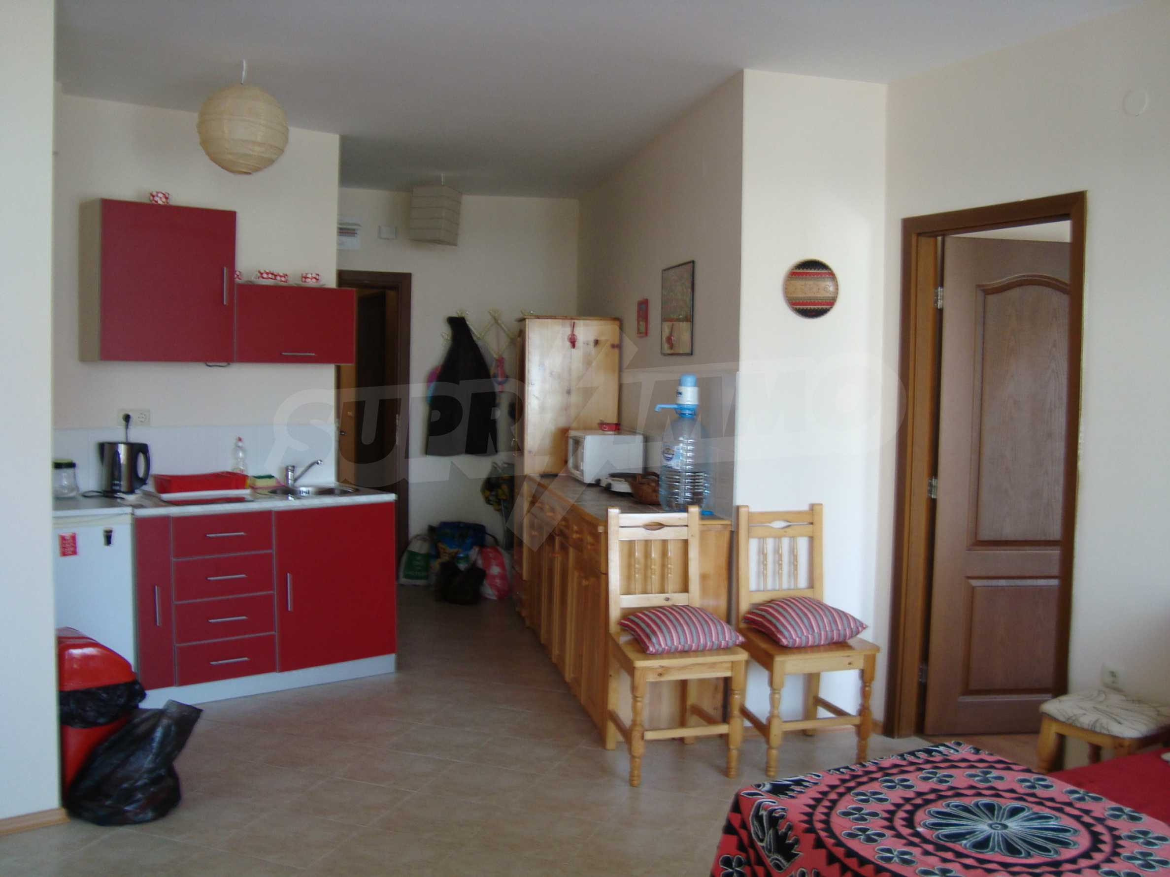 Two-bedroom apartment for sale in the center of Chernomorets
