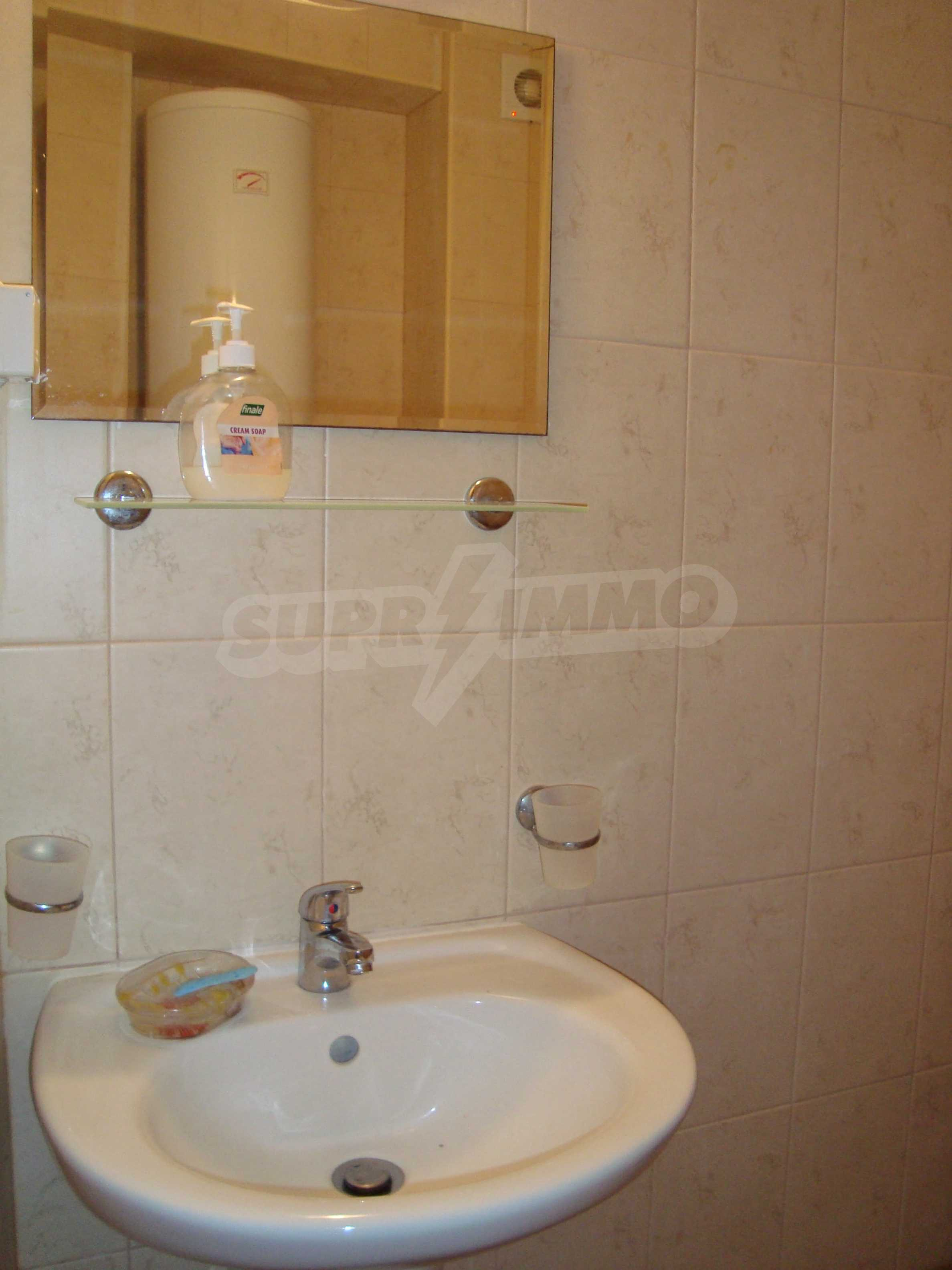 Two-bedroom apartment for sale in the center of Chernomorets 12
