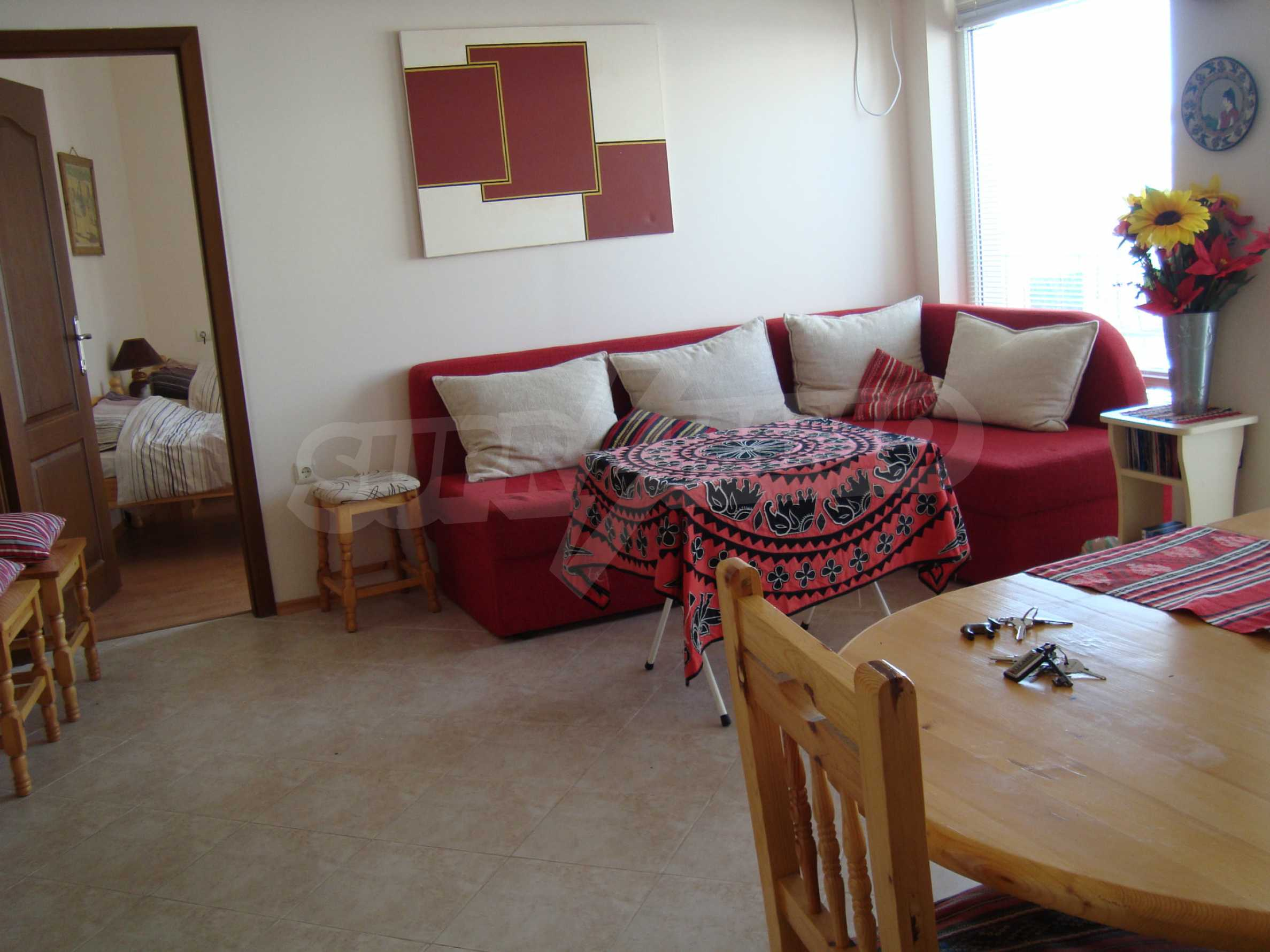 Two-bedroom apartment for sale in the center of Chernomorets 2