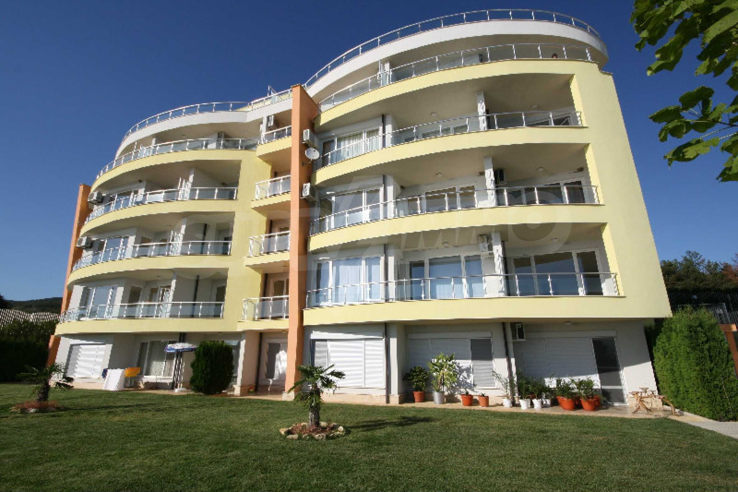 Panoramawohnung im Alex Beach Komplex in Saint Vlas 10