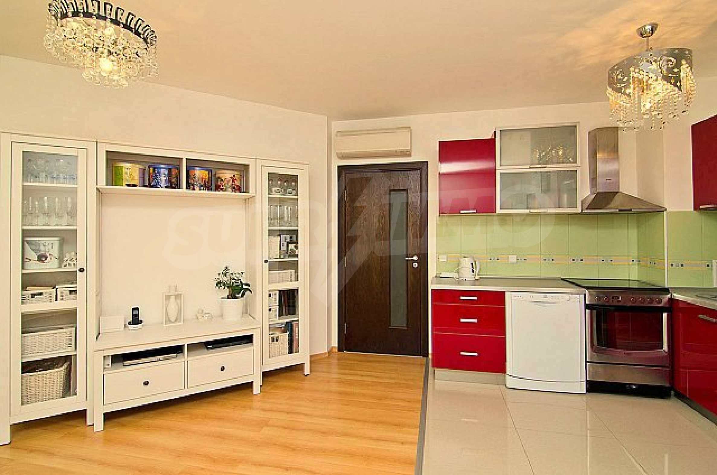 Apartment with a garage just 200 meters from the beach of St.Constantine and Helena resort  4