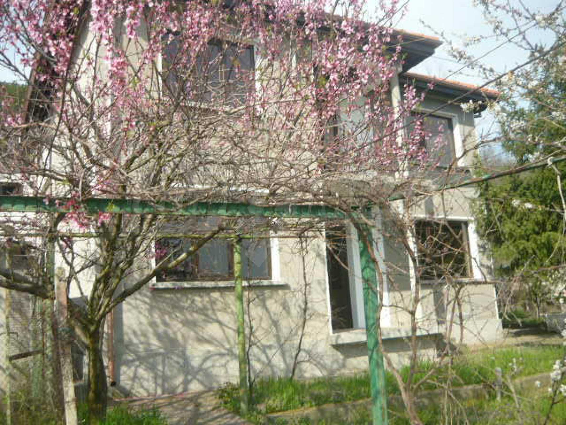 Two-storey house in a village located 3 km. from Veliko Tarnovo