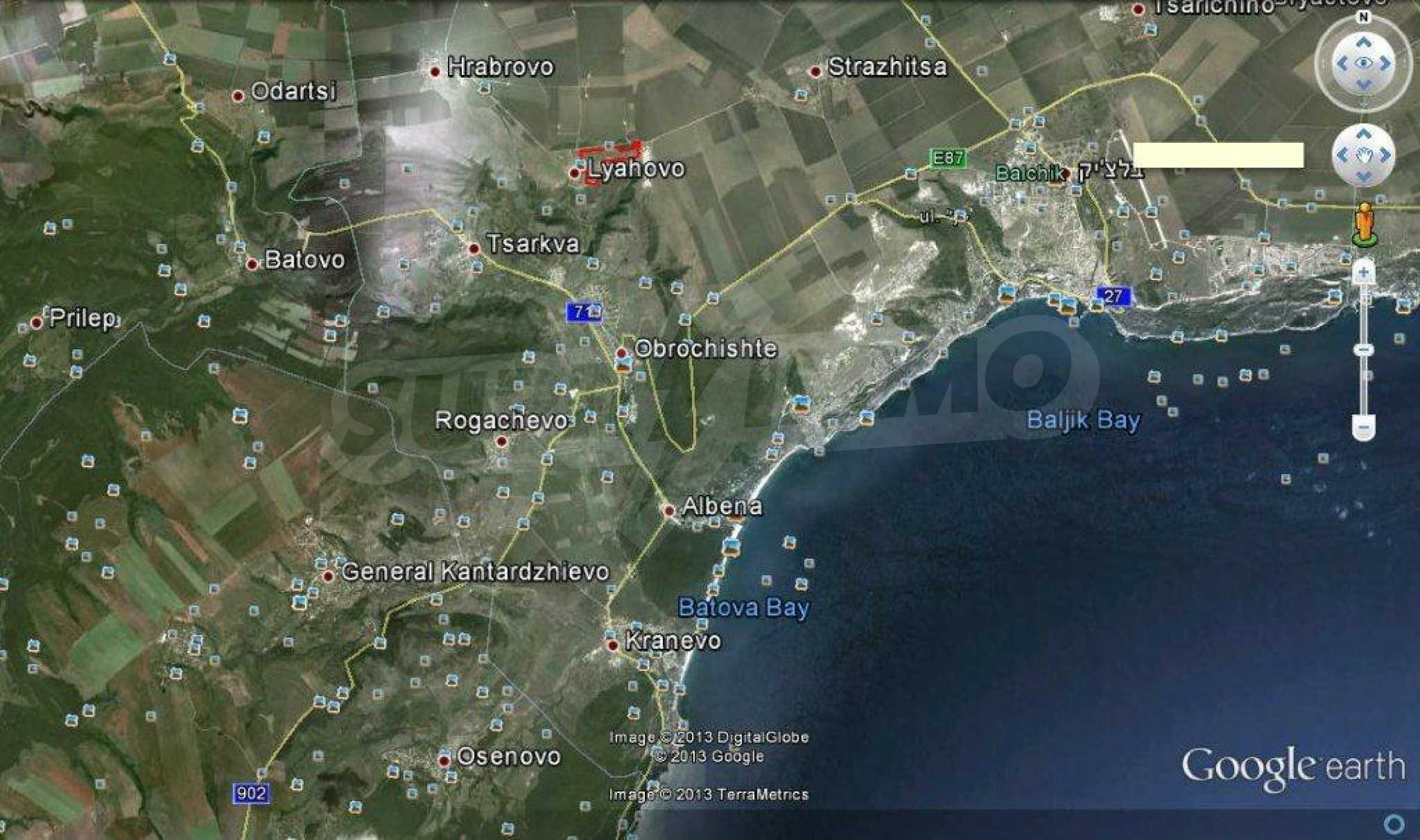 Large plot of land near Balchik