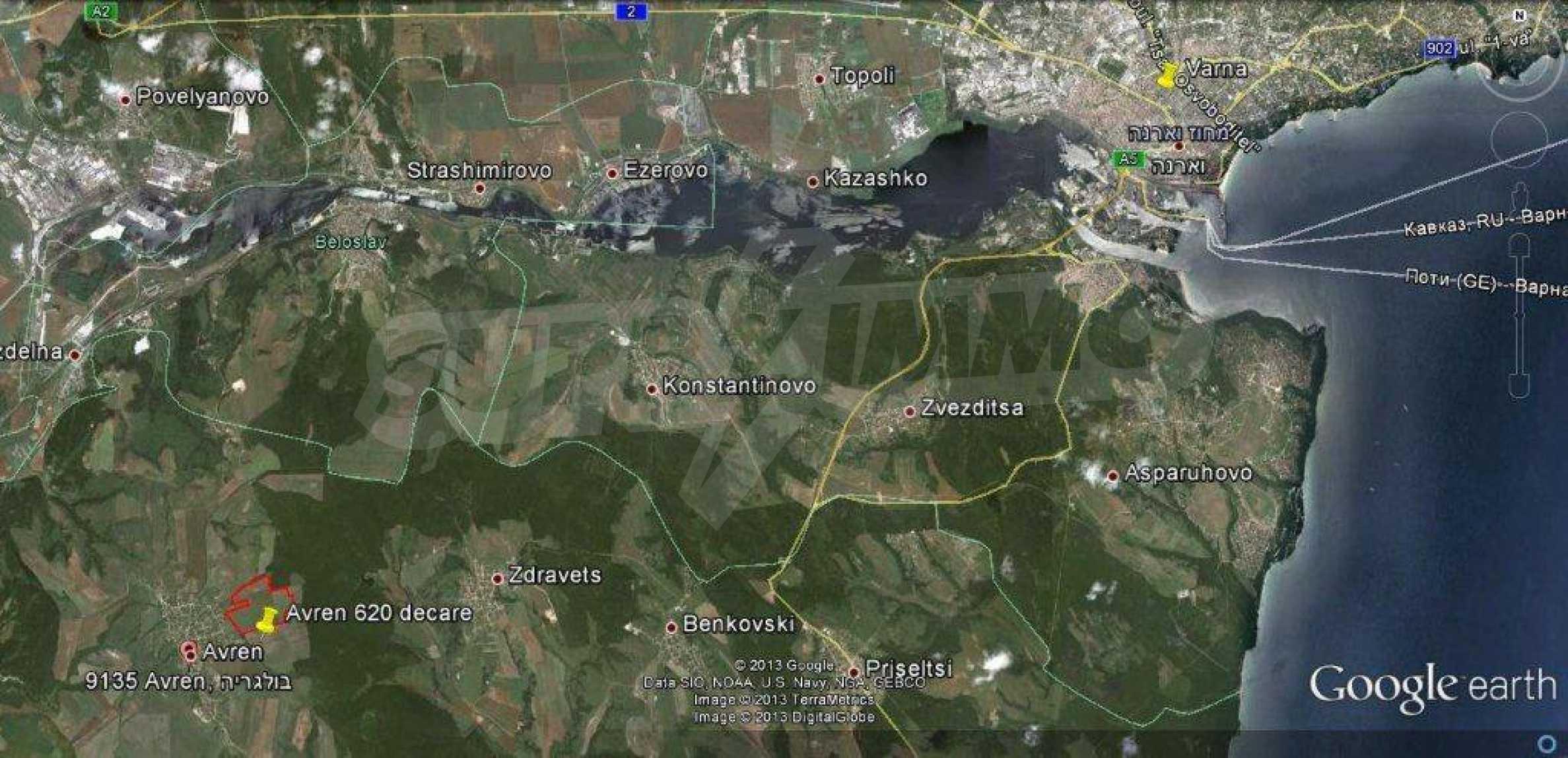 Large plot of land for sale in Avren 2