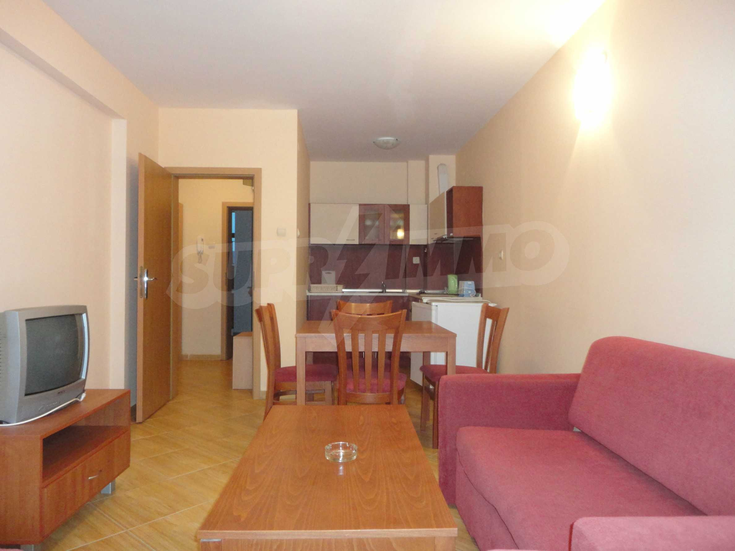 One-bedroom apartment in Golden Dreams complex in Sunny beach
