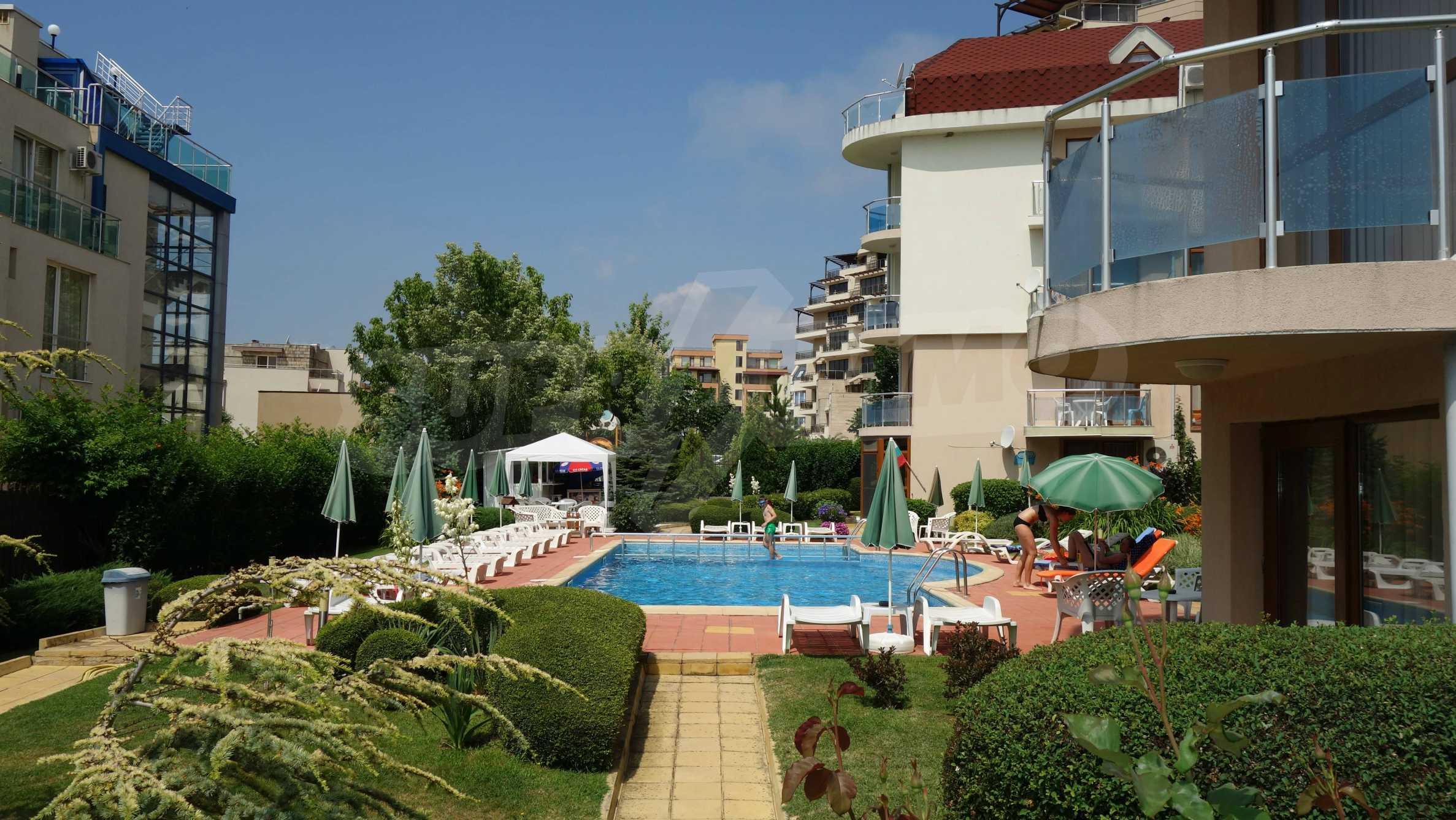 One-bedroom apartment in Starfish complex in Sveti Vlas 34