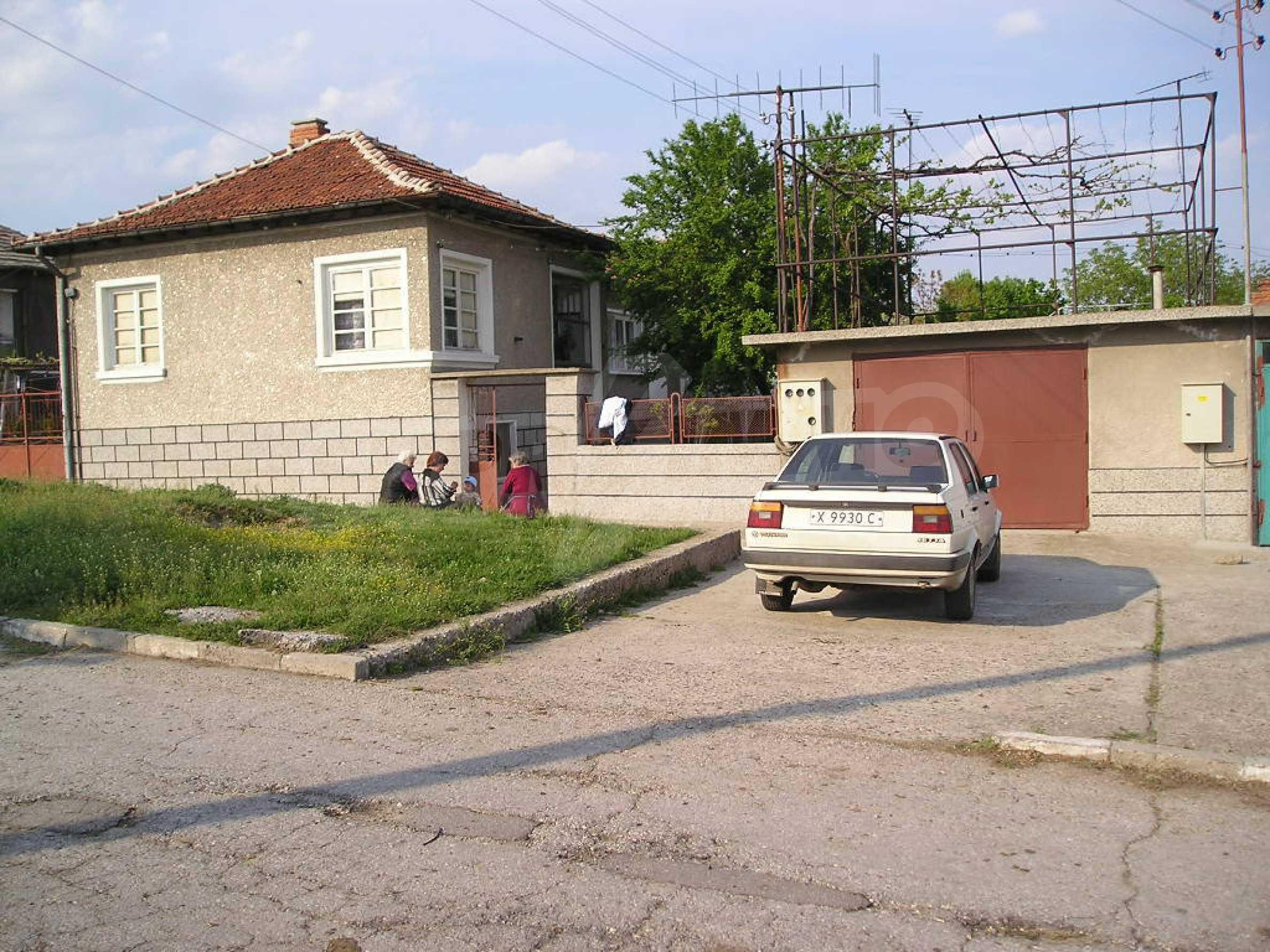 Spacious 1-storey house with yard in Simeonovgrad