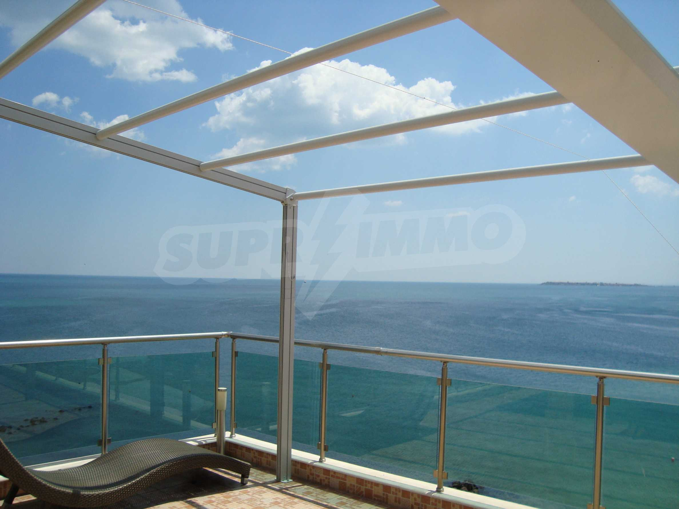 Panoramic apartment in Sunny Bay complex in Sunny Beach