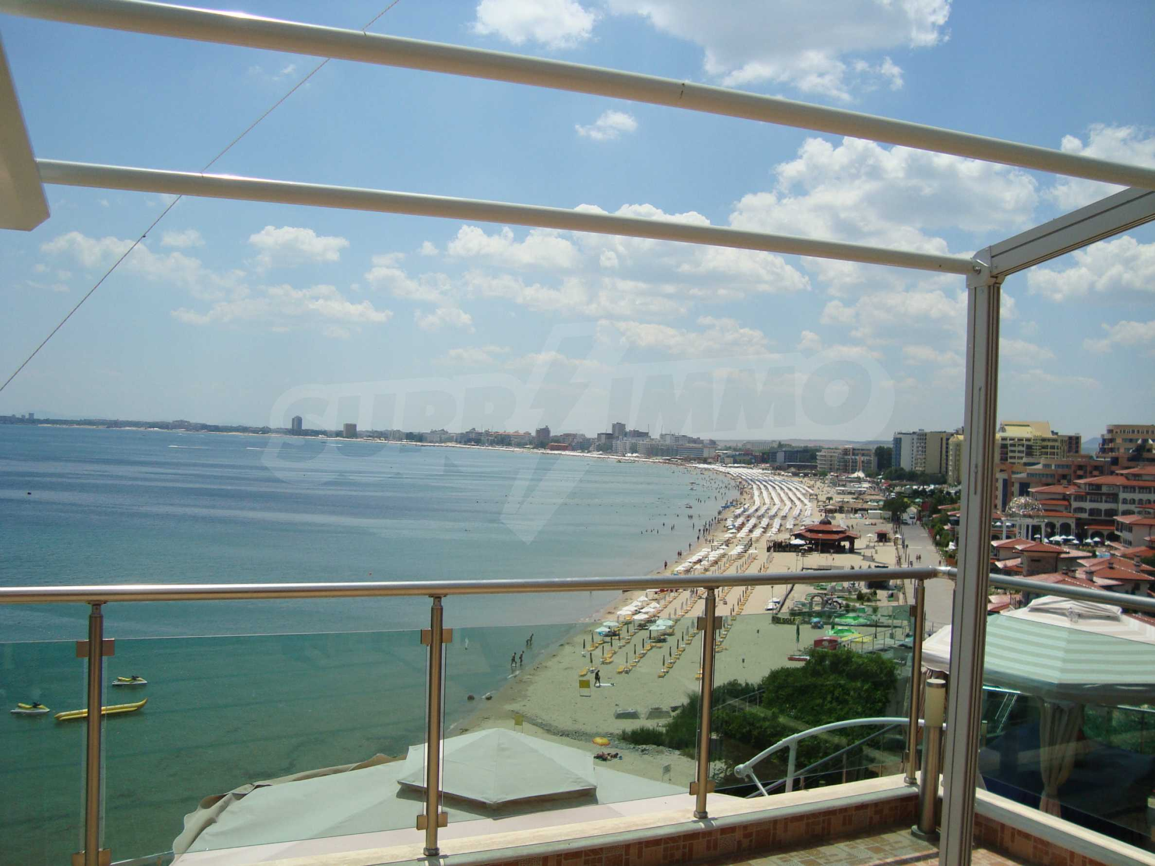 Panoramic apartment in Sunny Bay complex in Sunny Beach 1