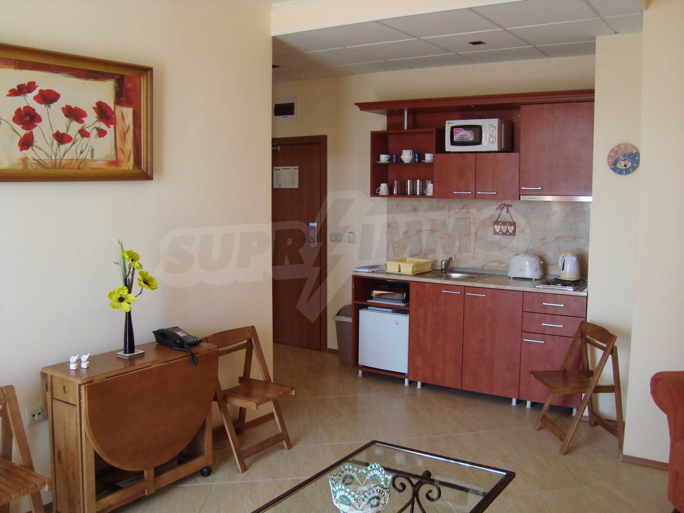 One-bedroom apartment in Palazzo 1 complex in Sunny beach