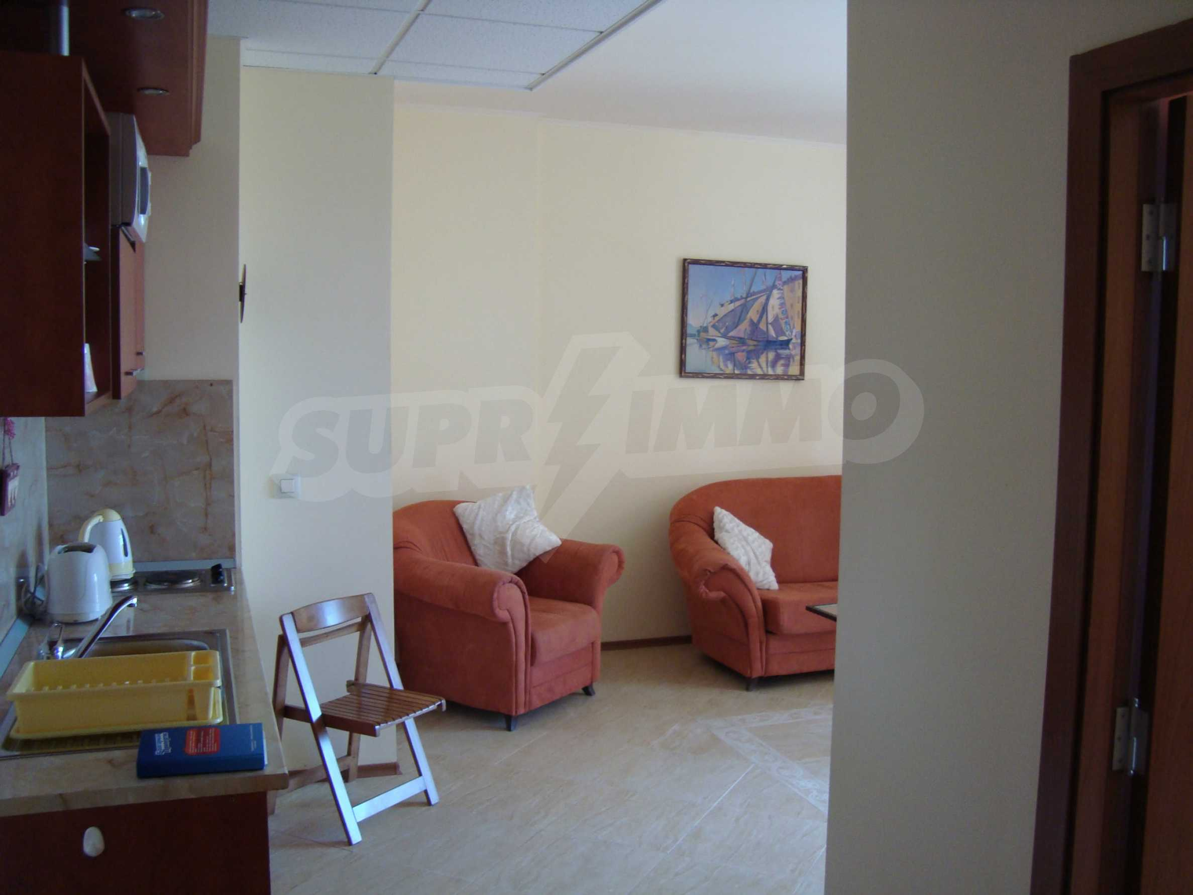 One-bedroom apartment in Palazzo 1 complex in Sunny beach 13