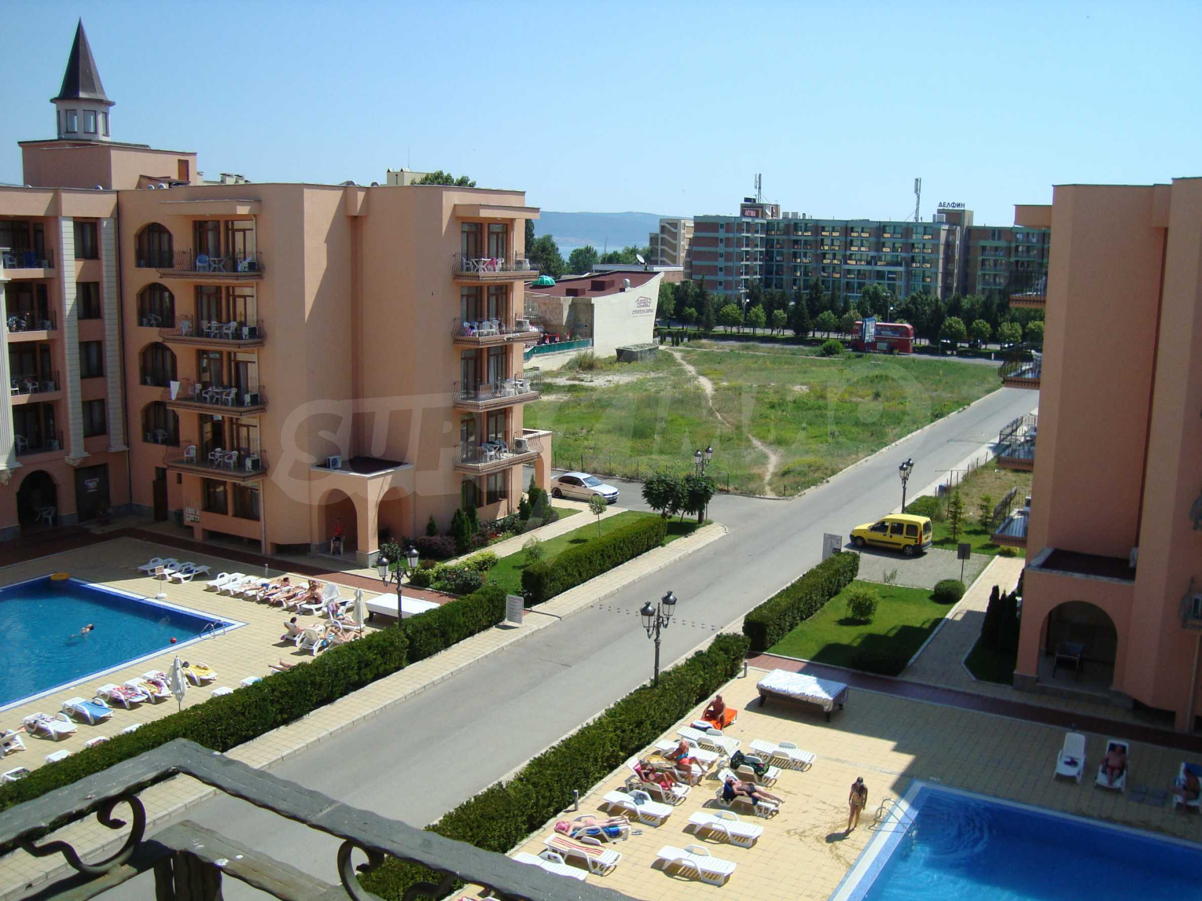 One-bedroom apartment in Palazzo 1 complex in Sunny beach 24