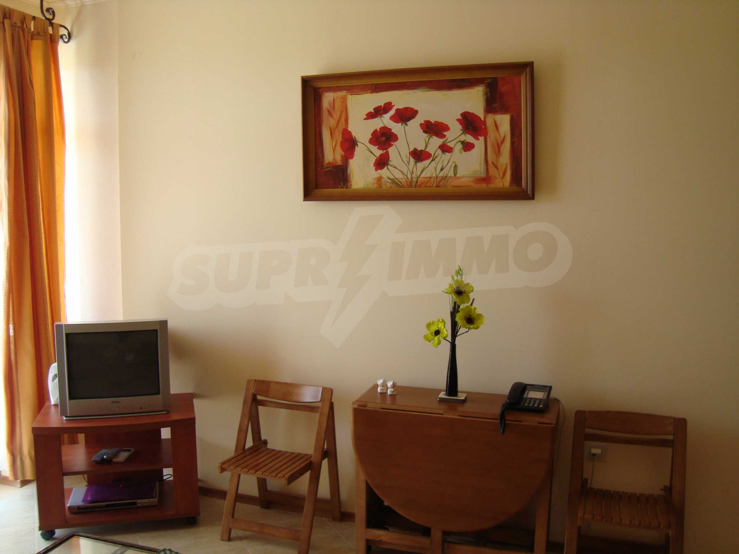 One-bedroom apartment in Palazzo 1 complex in Sunny beach 2