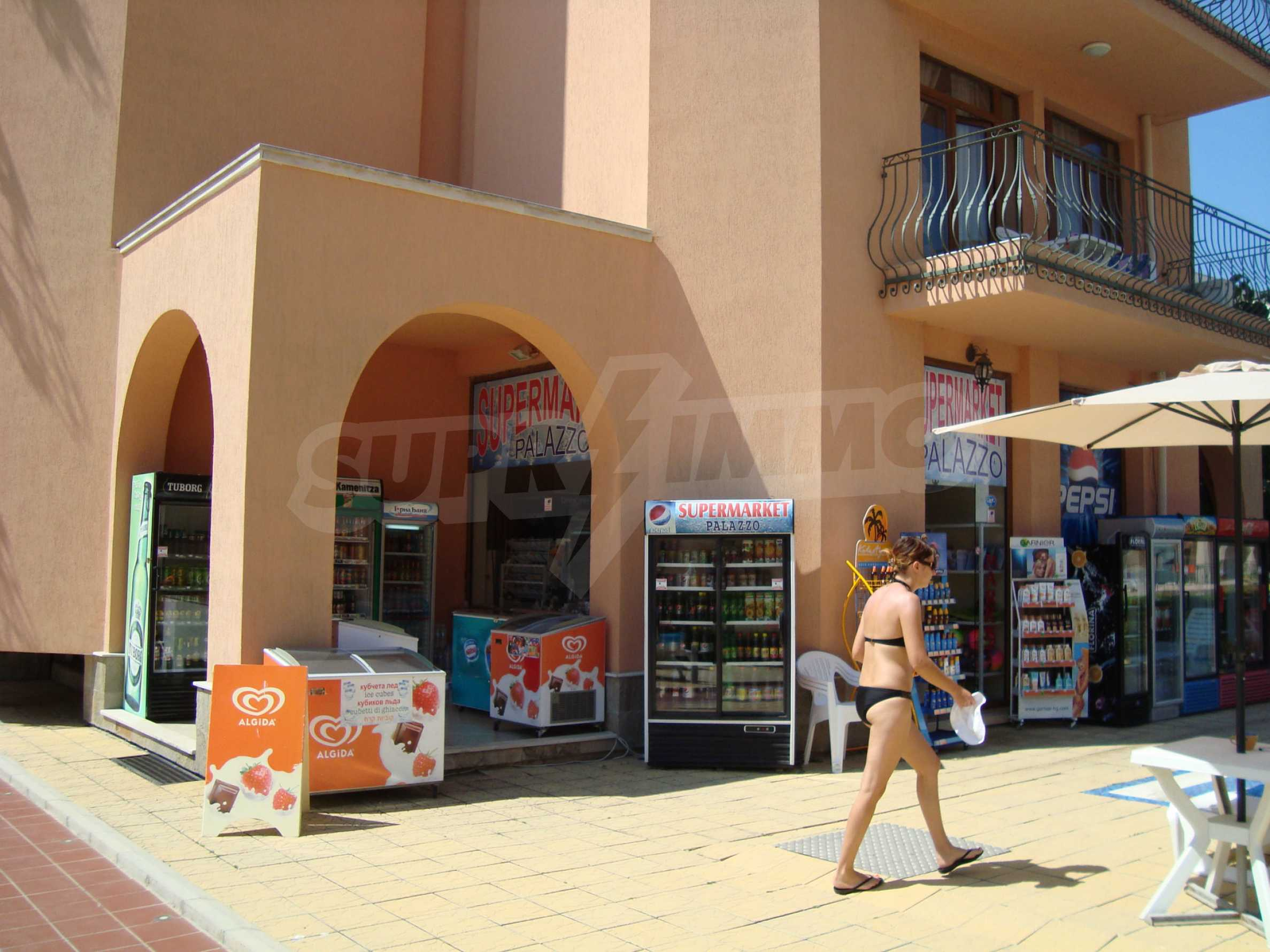 One-bedroom apartment in Palazzo 1 complex in Sunny beach 31
