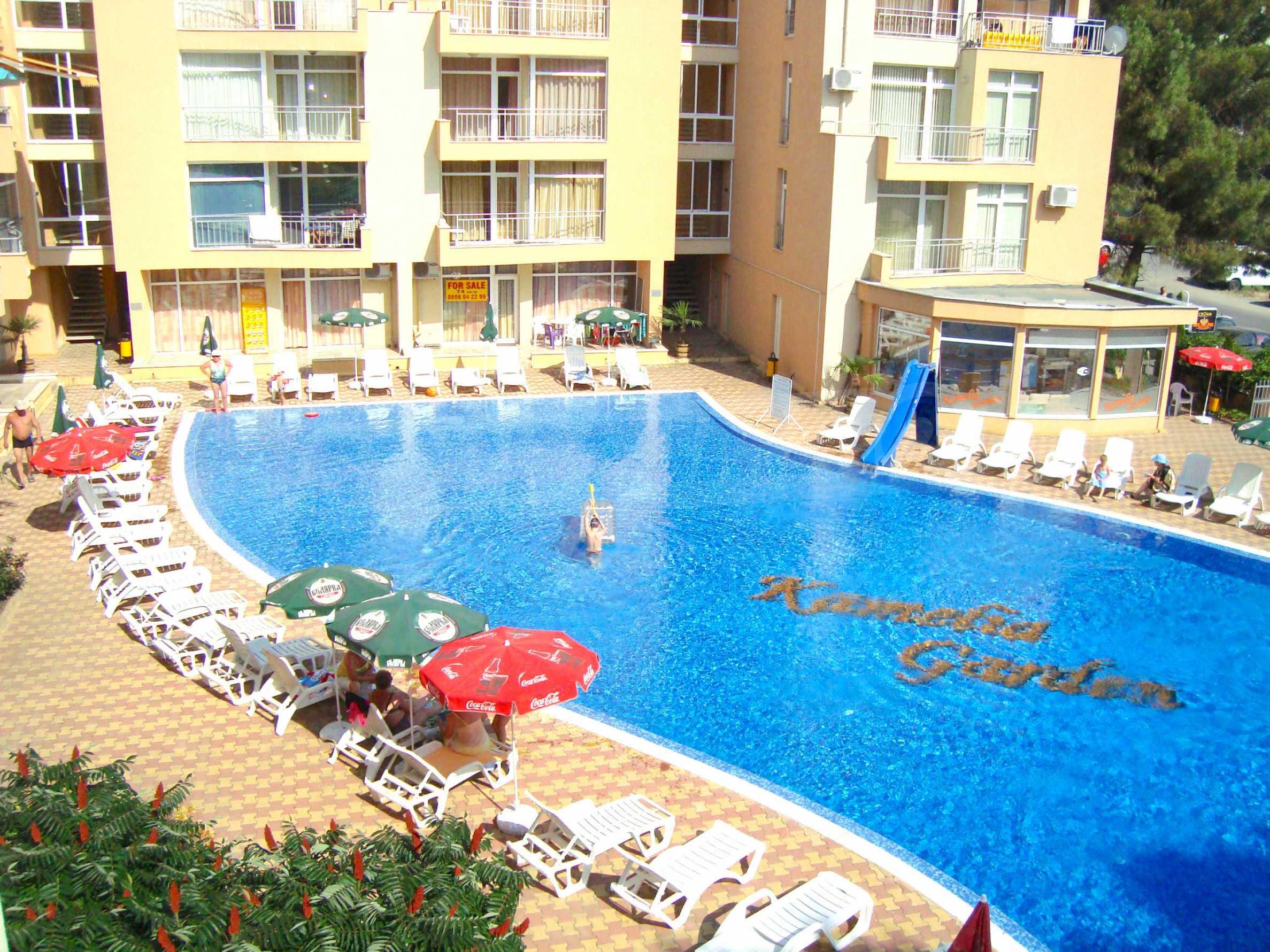 1-bedroom apartment in Kamelia Gardens complex in Sunny beach