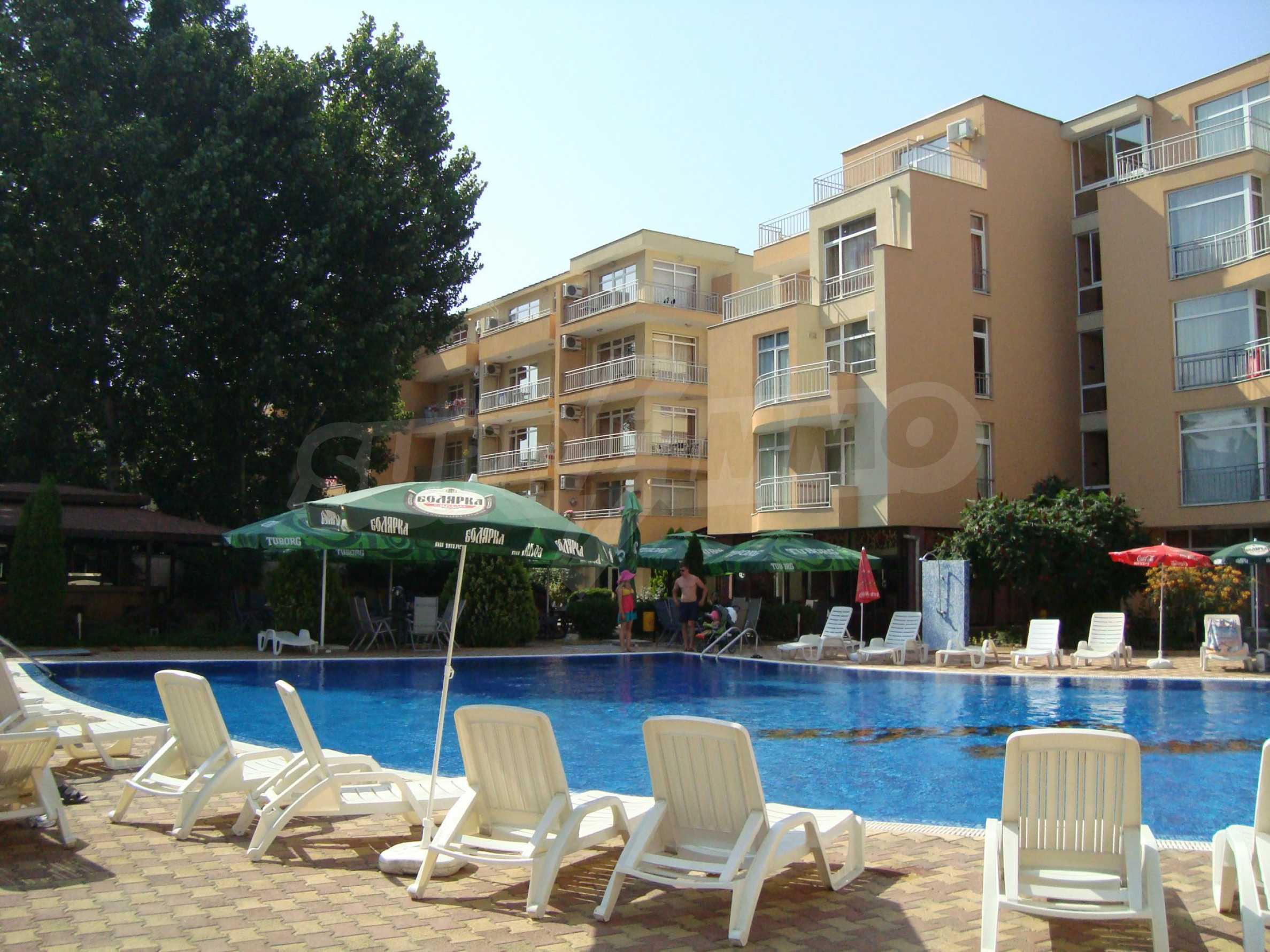 1-bedroom apartment in Kamelia Gardens complex in Sunny beach 25