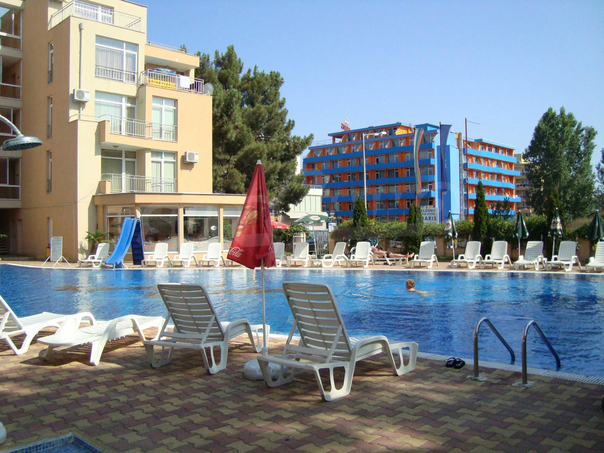 1-bedroom apartment in Kamelia Gardens complex in Sunny beach 26