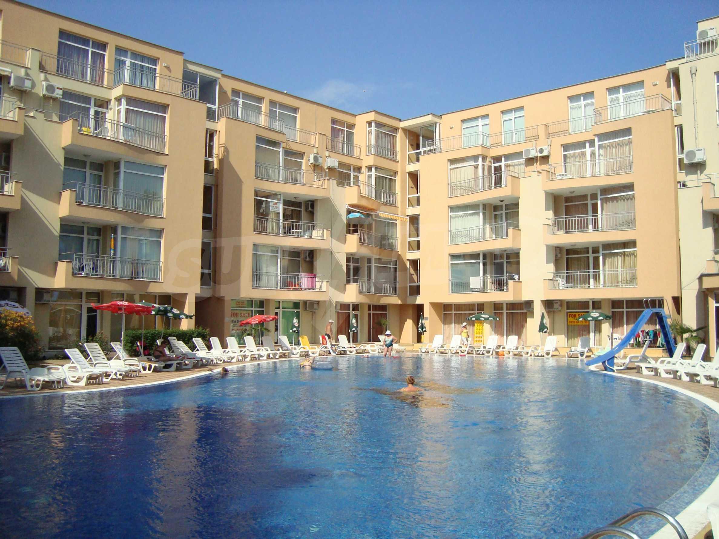 1-bedroom apartment in Kamelia Gardens complex in Sunny beach 27
