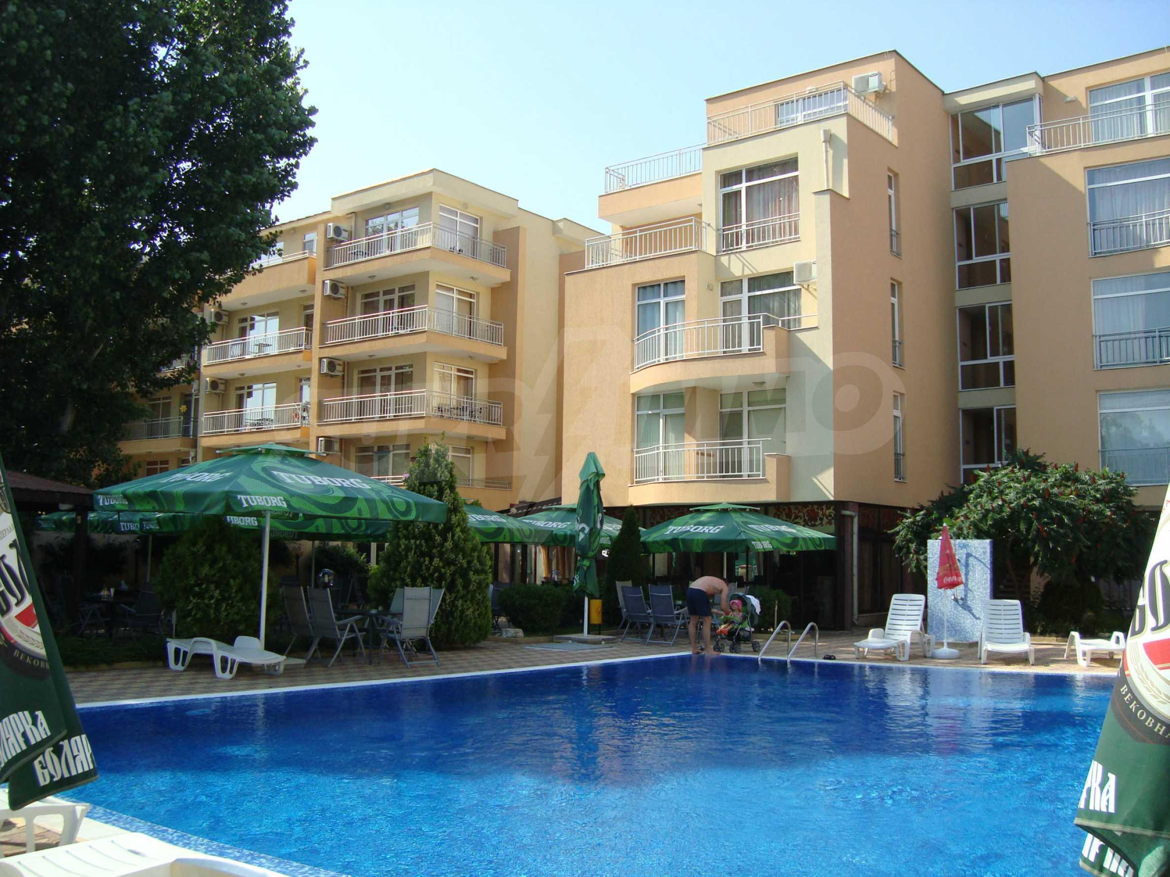 1-bedroom apartment in Kamelia Gardens complex in Sunny beach 29