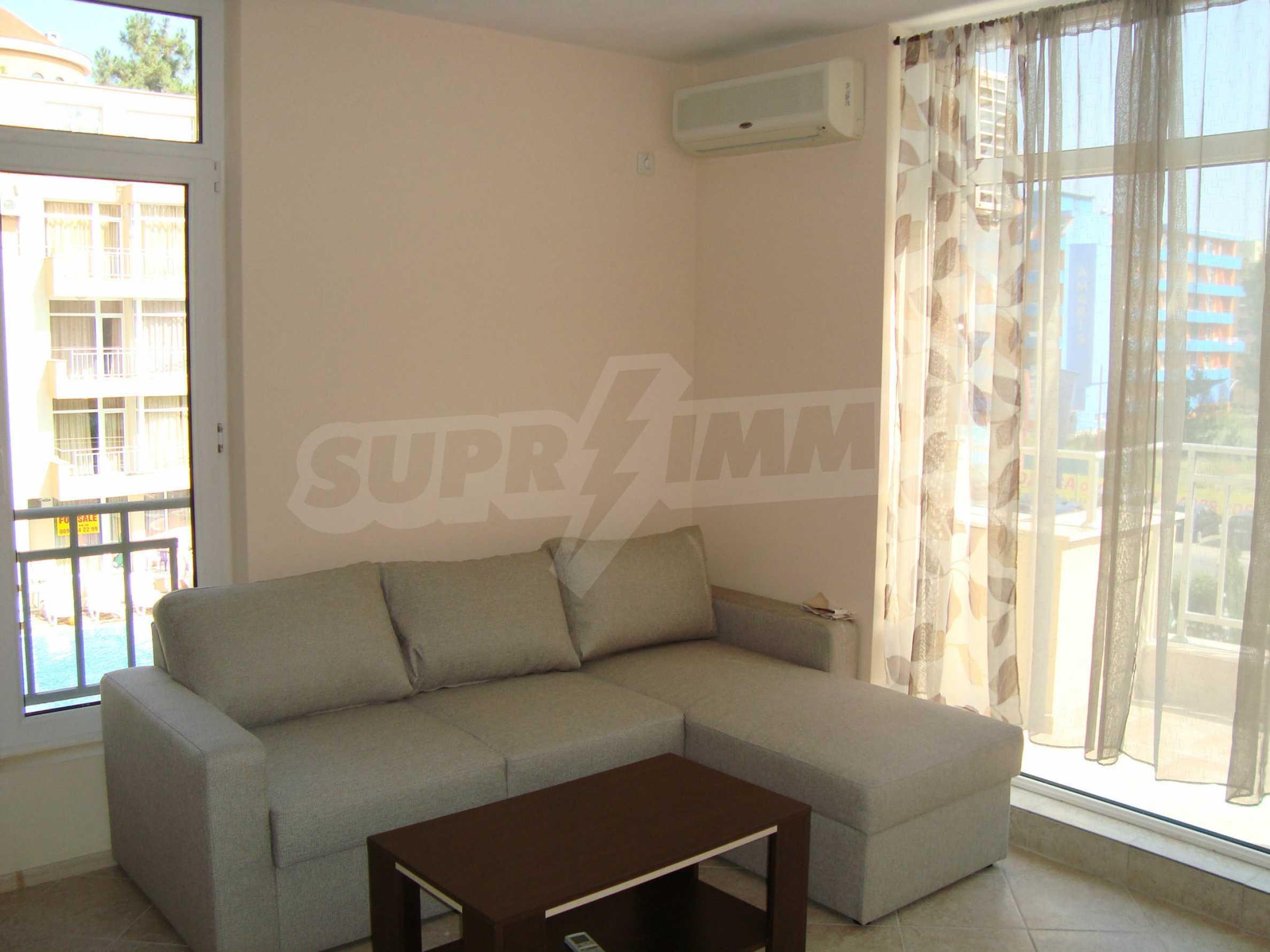 1-bedroom apartment in Kamelia Gardens complex in Sunny beach 7