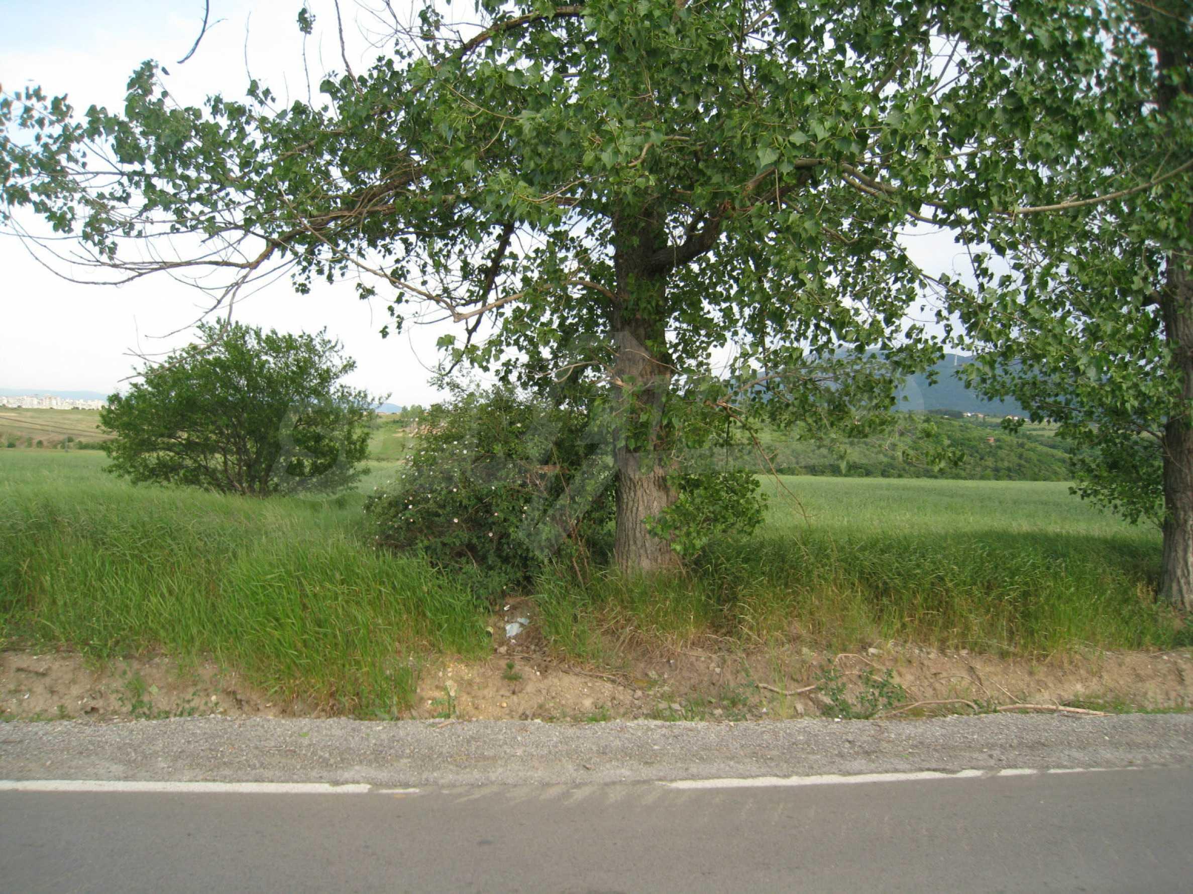Agricultural land at asphalt road in Suhodol 1