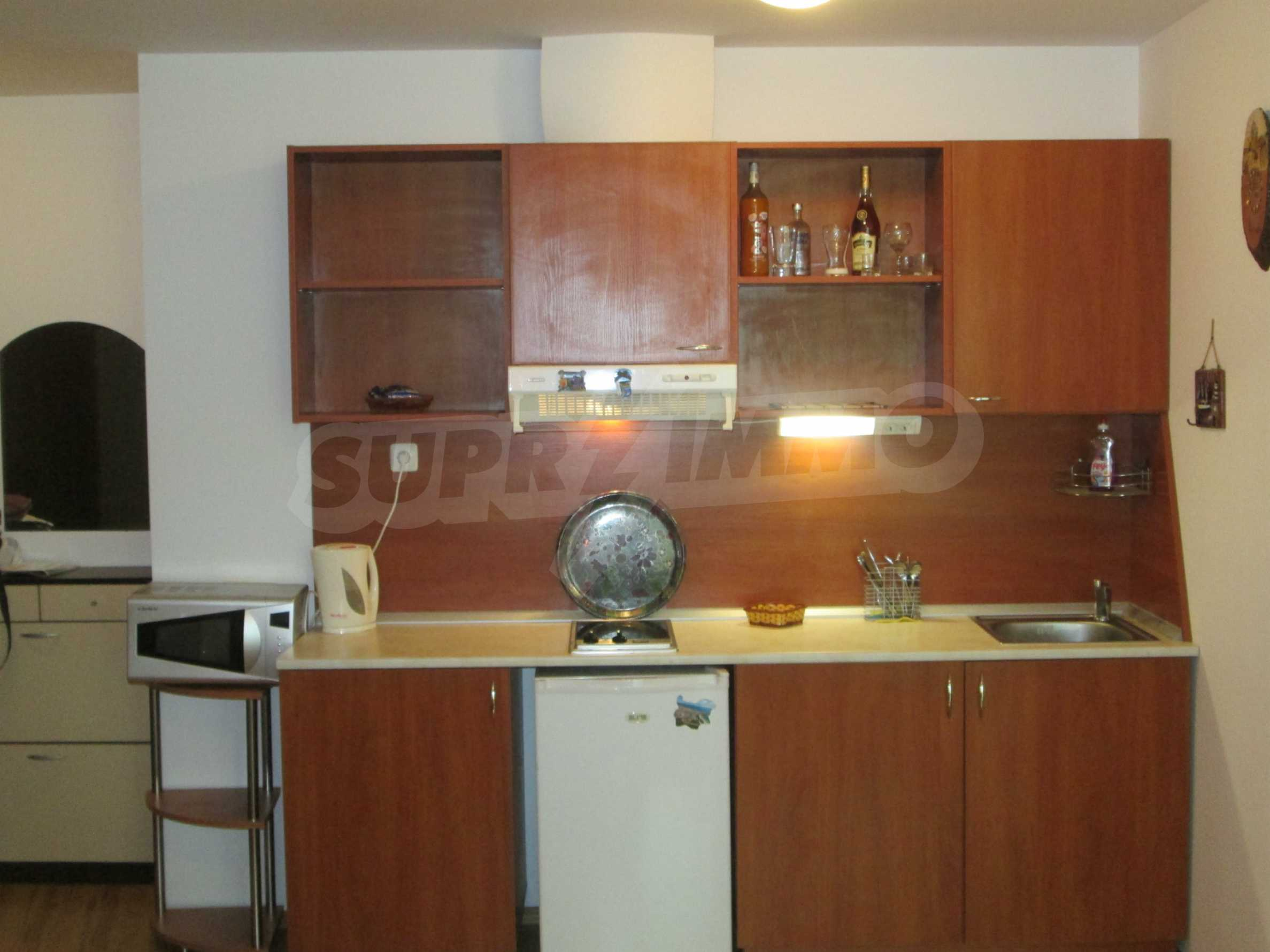 Fully furnished one-bedroom apartment on the beach 3
