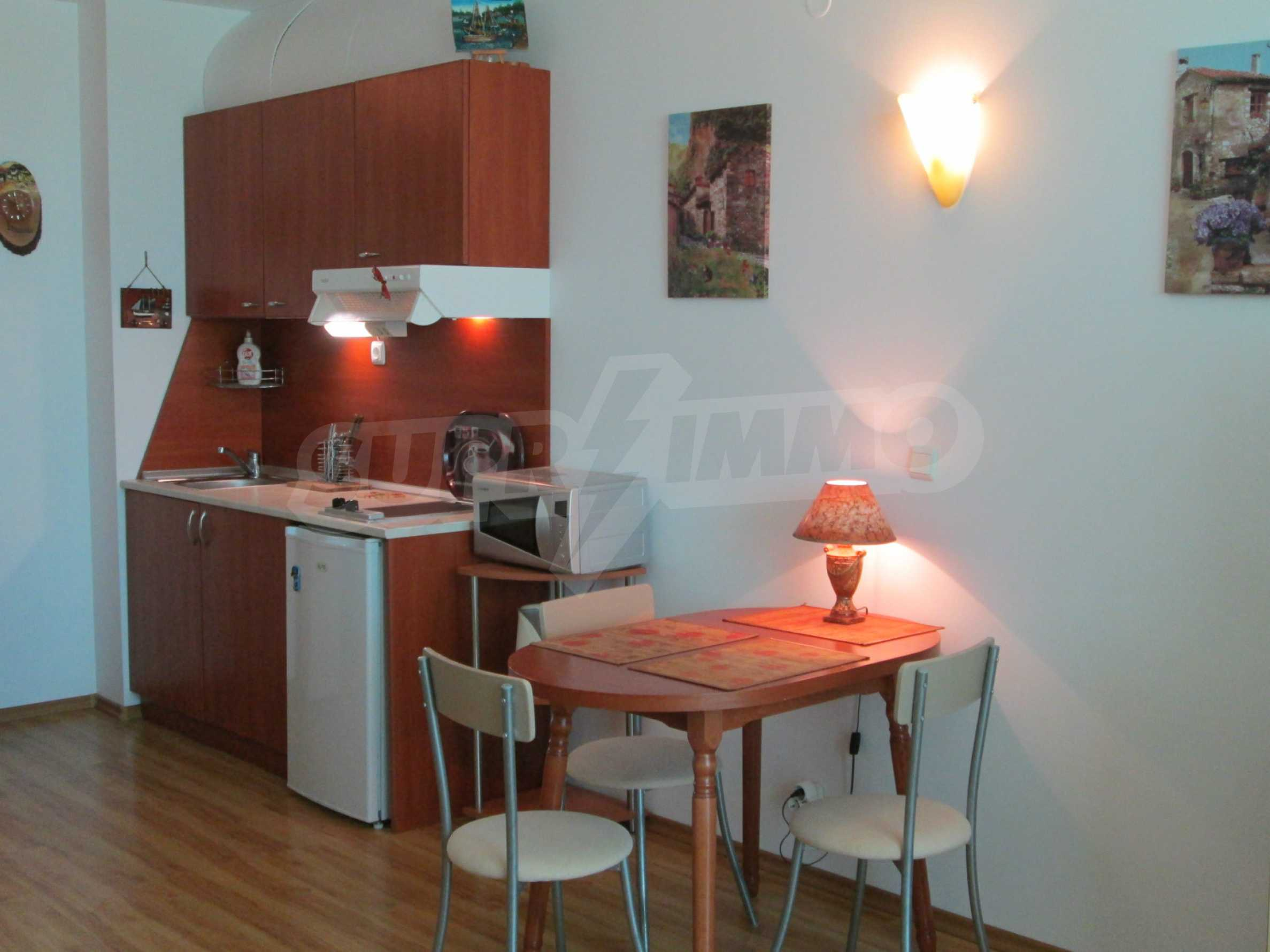 Fully furnished one-bedroom apartment on the sea 4