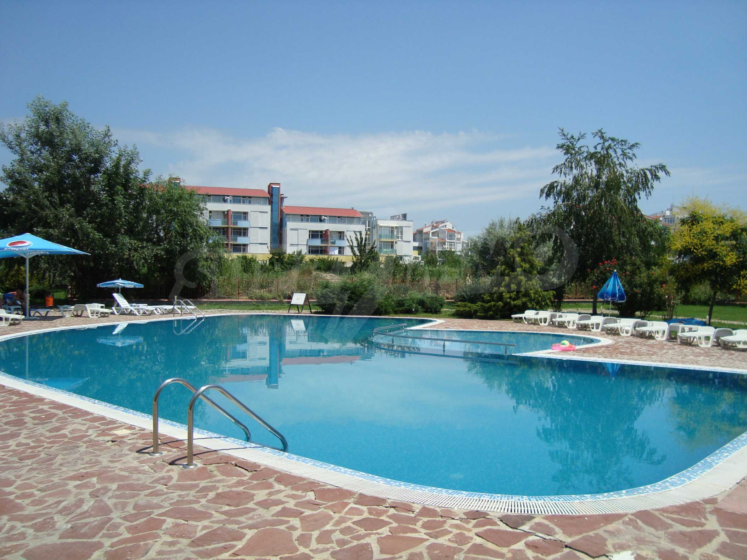 One-bedroom apartment in Prestige City 1 complex in Sunny beach