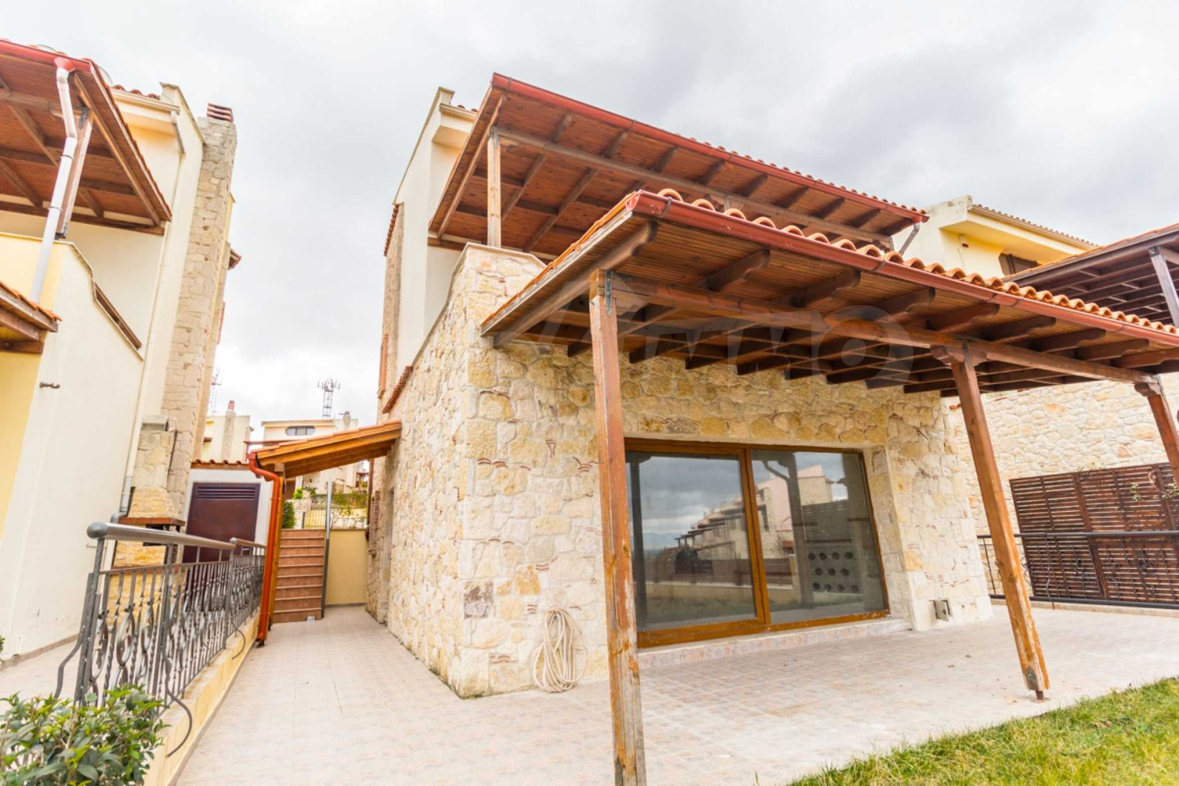 Редова къща само на сто метра от морето в Афитос, Касандра 24