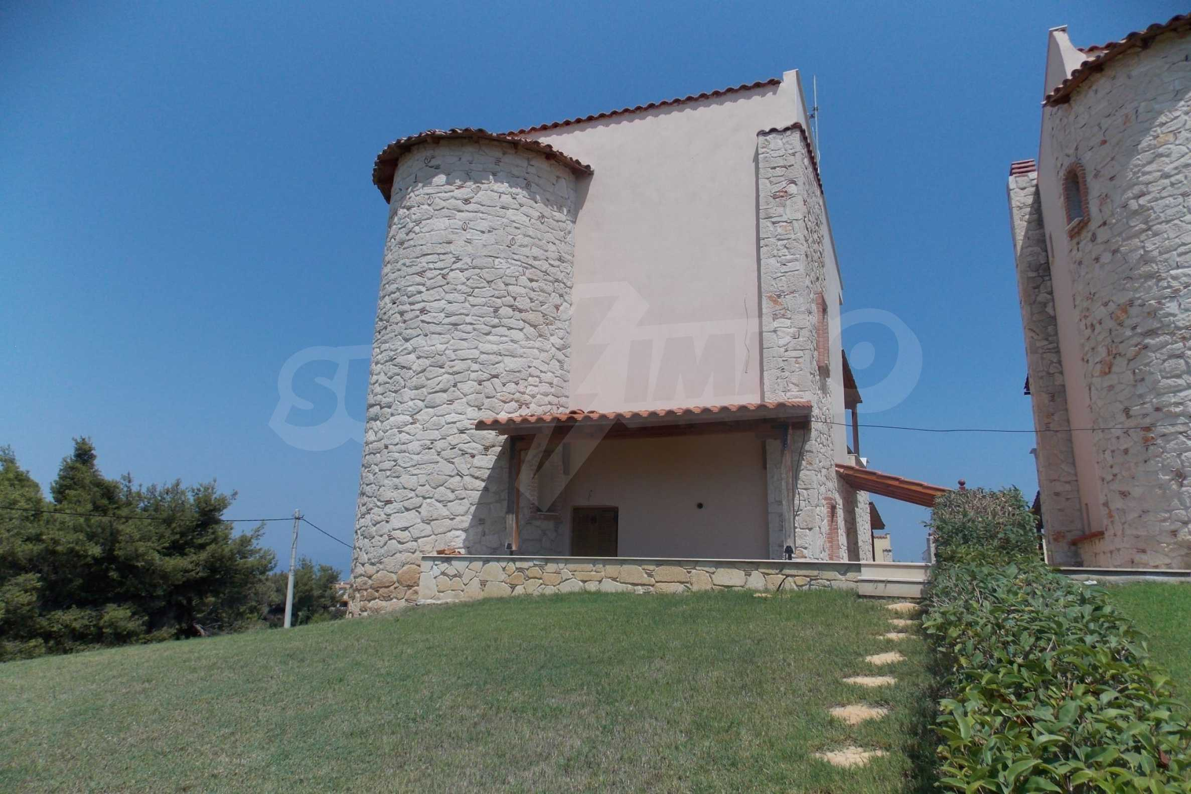 Редова къща само на сто метра от морето в Афитос, Касандра 2